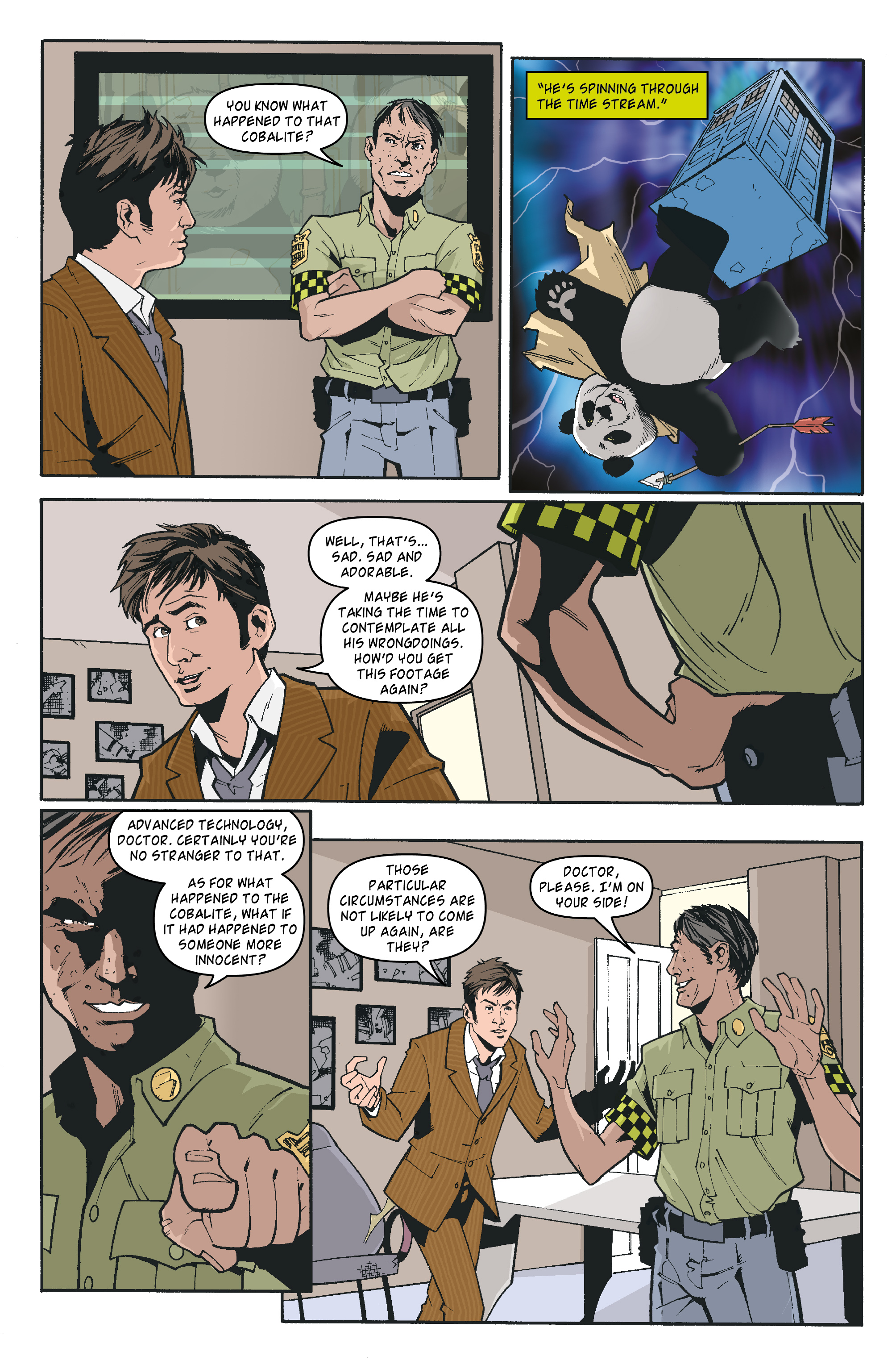 Read online Doctor Who: The Tenth Doctor Archives comic -  Issue #35 - 14