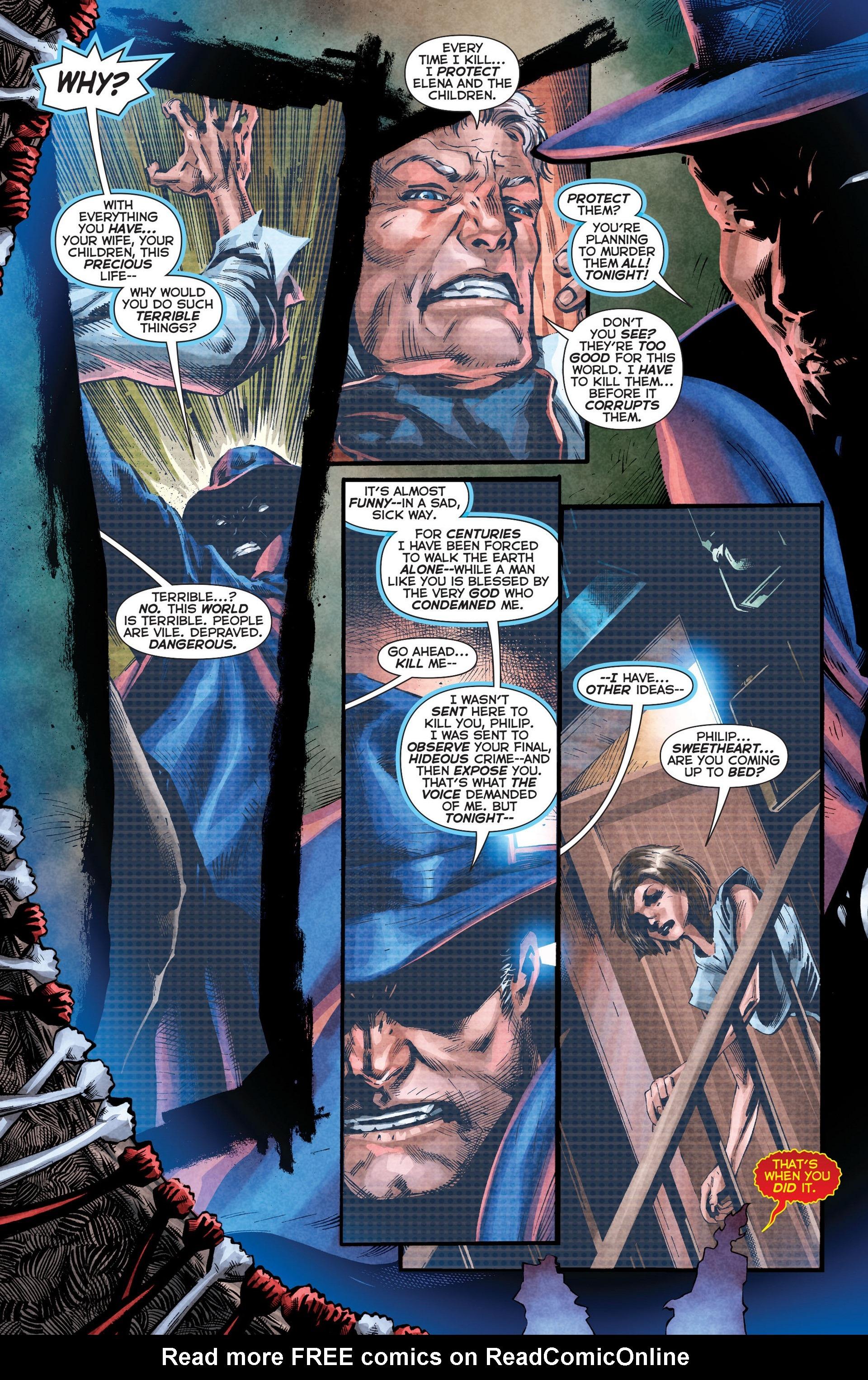 Read online Trinity of Sin: The Phantom Stranger comic -  Issue #8 - 13