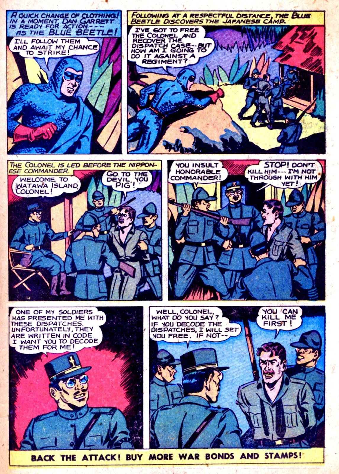 The Blue Beetle issue 31 - Page 21