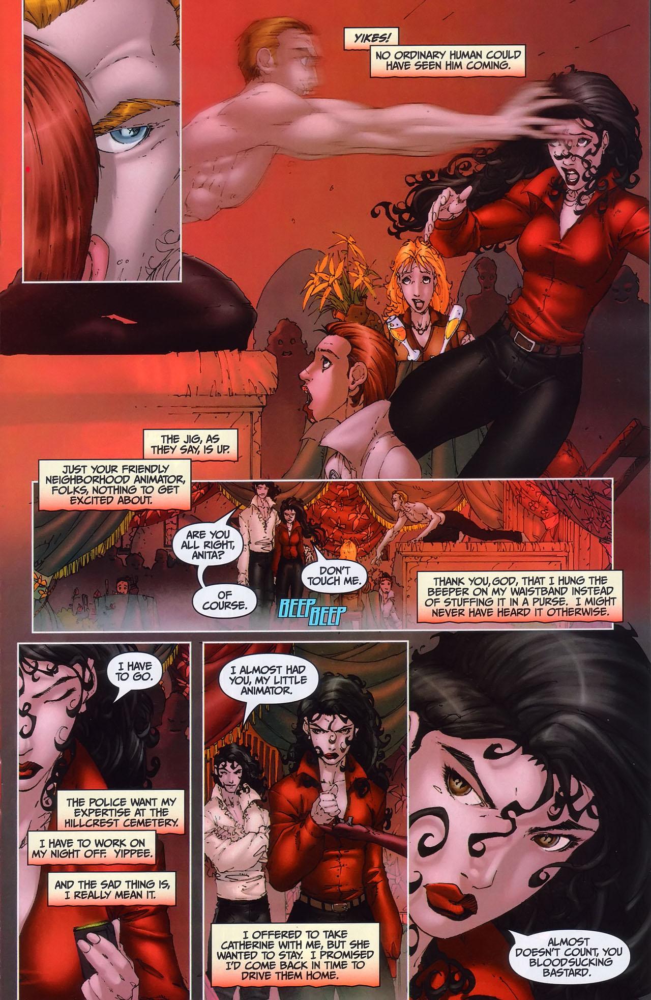 Read online Anita Blake, Vampire Hunter: Guilty Pleasures comic -  Issue #1 - 18