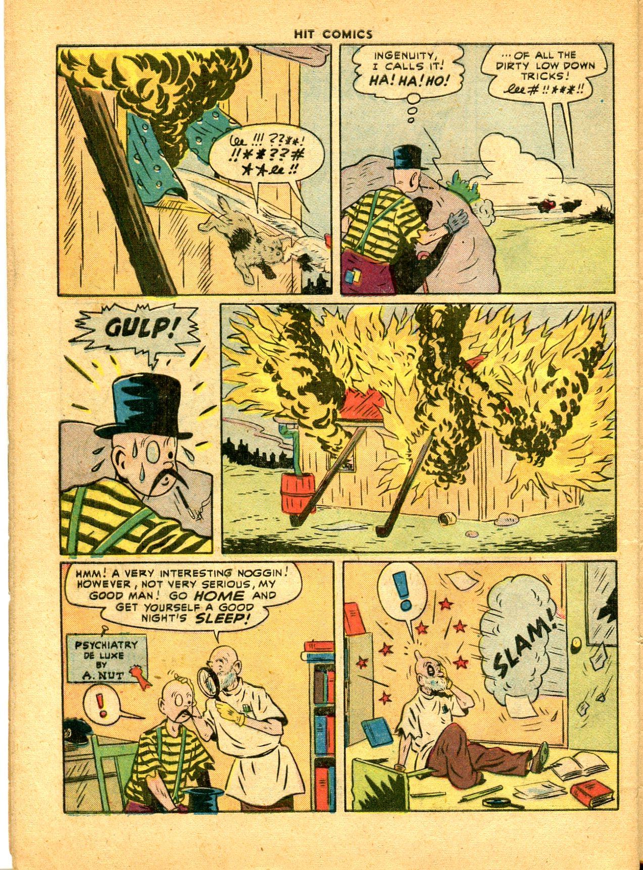 Read online Hit Comics comic -  Issue #49 - 44