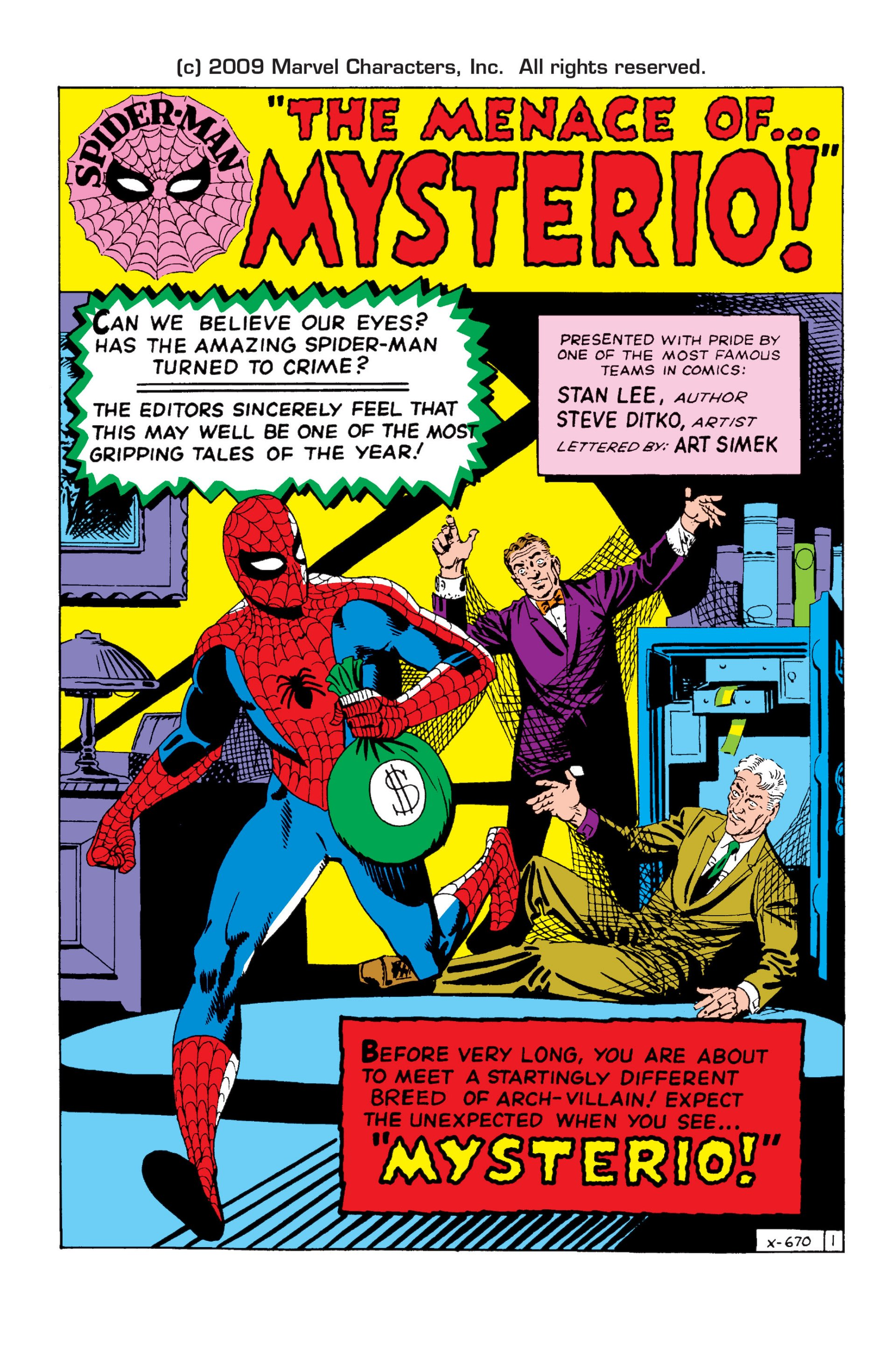 The Amazing Spider-Man (1963) 13 Page 1