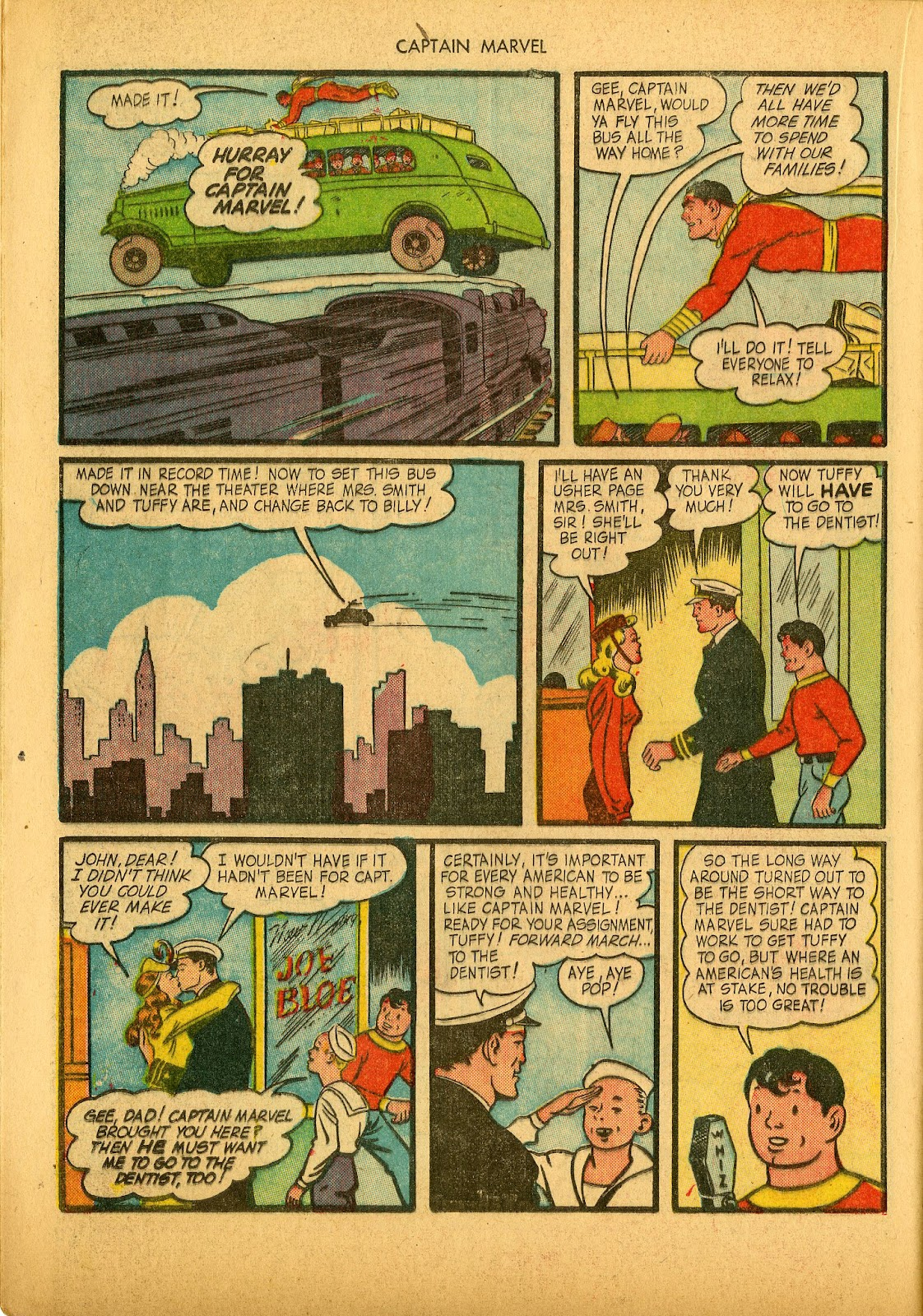 Captain Marvel Adventures issue 36 - Page 36