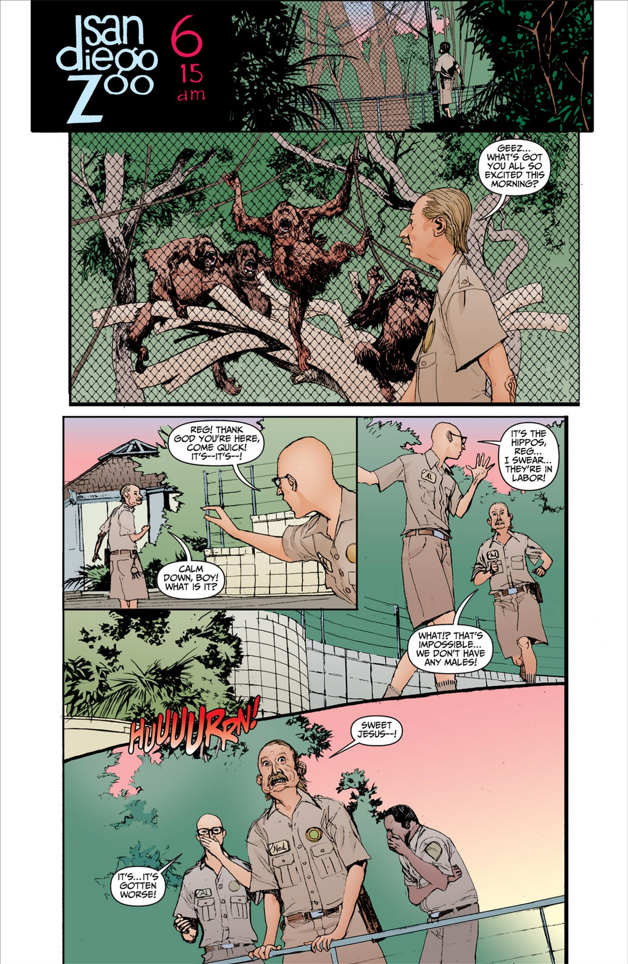 Read online Animal Man (2011) comic -  Issue #2 - 14