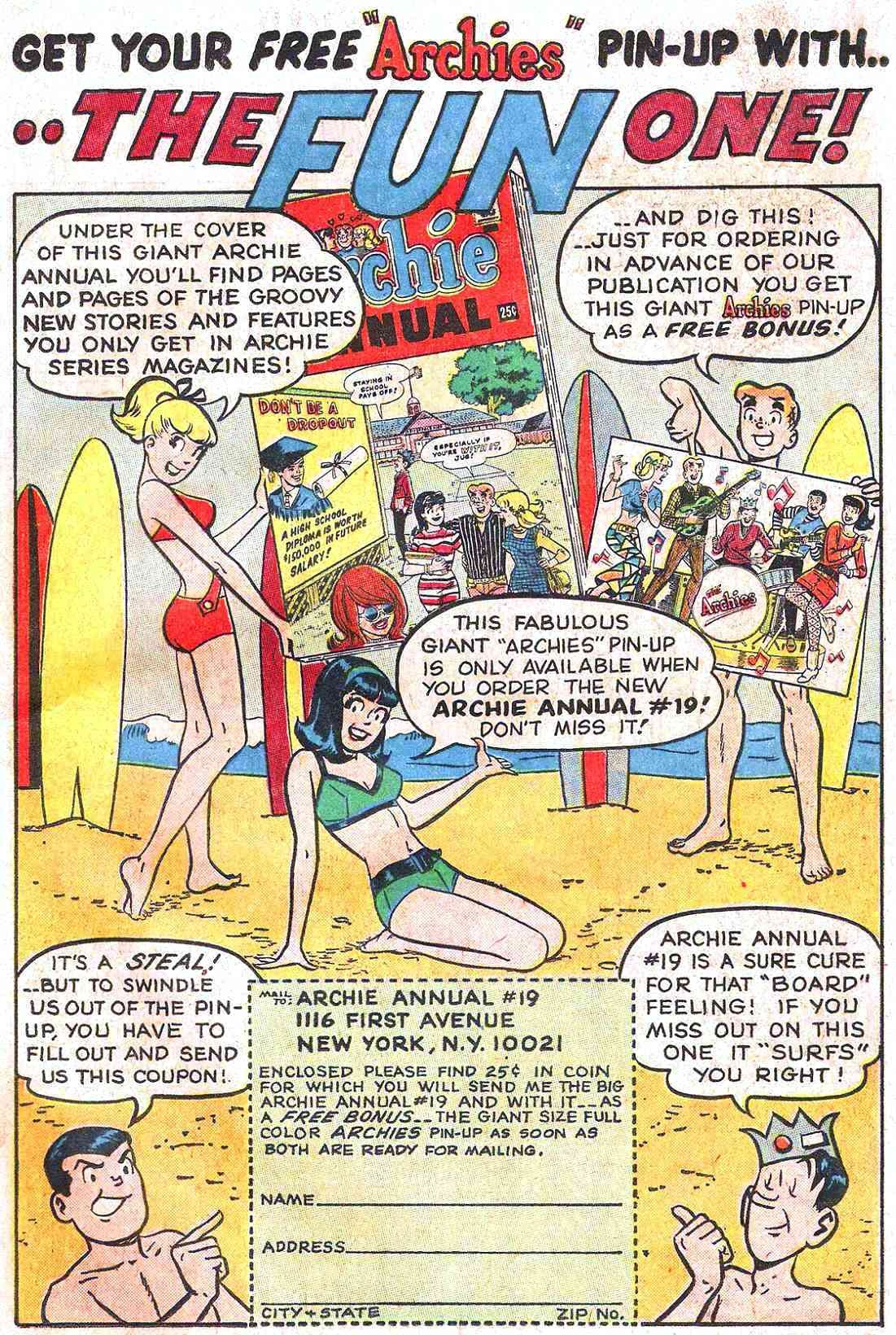 Read online Archie (1960) comic -  Issue #173 - 19