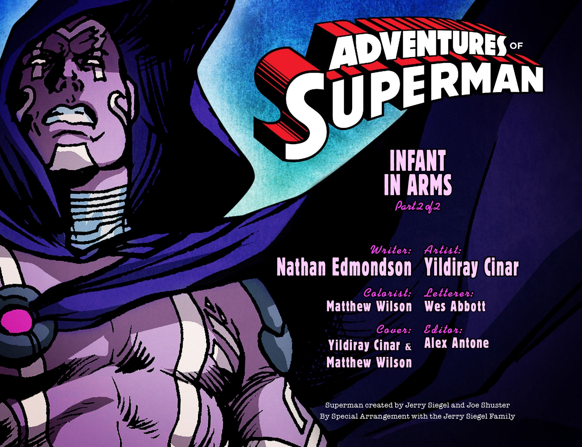 Read online Adventures of Superman [I] comic -  Issue #14 - 2