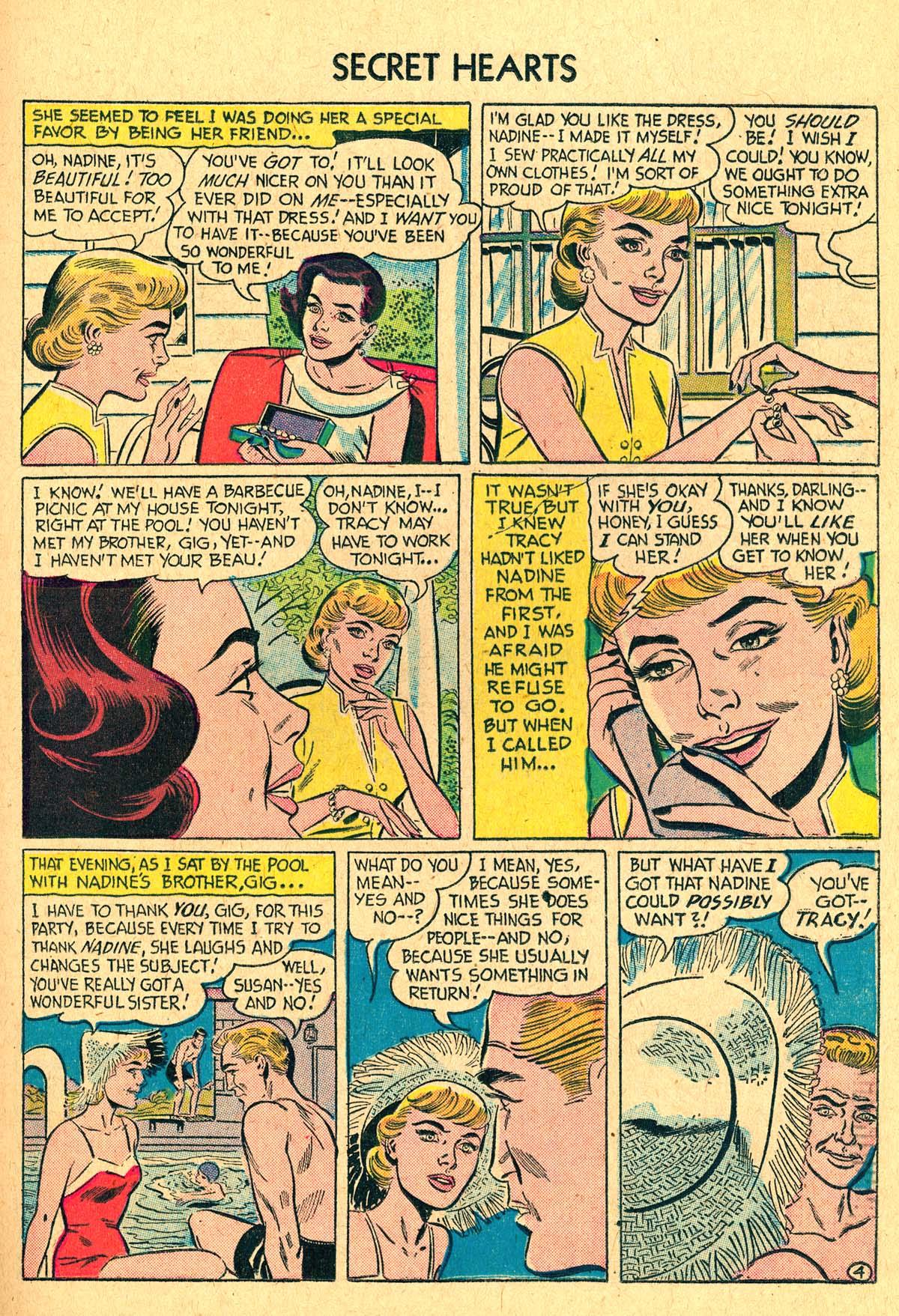 Read online Secret Hearts comic -  Issue #40 - 21