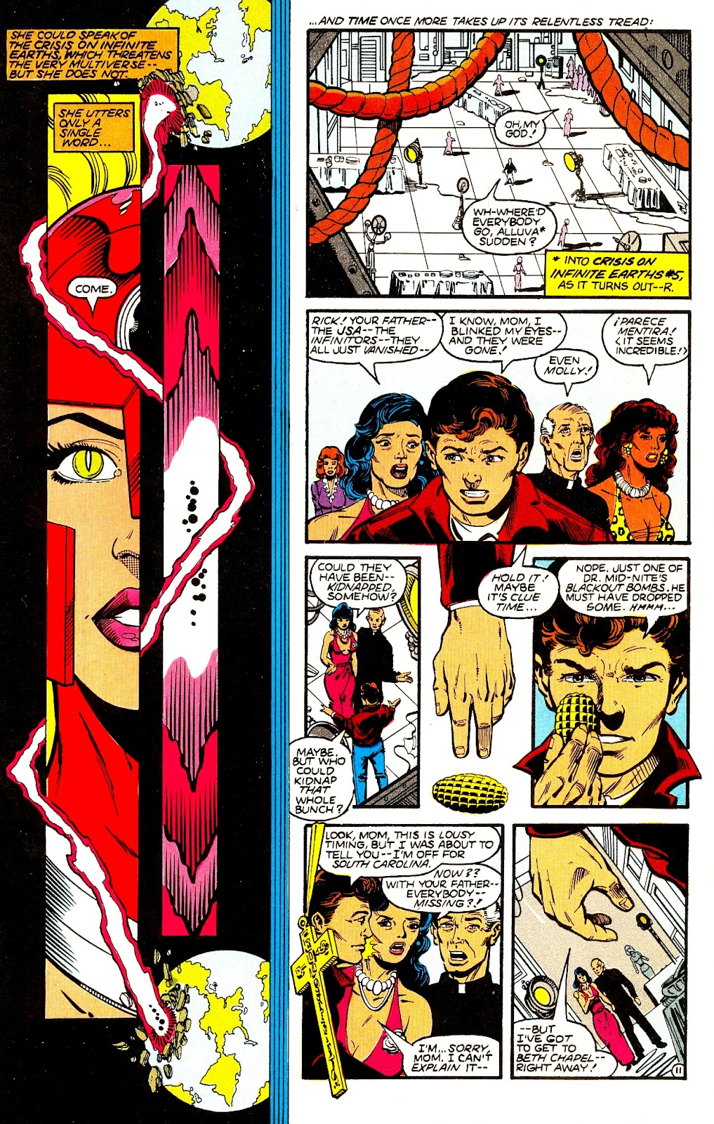 Infinity Inc. (1984) issue 21 - Page 13