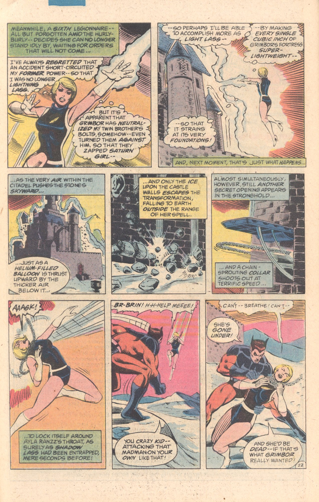 Legion of Super-Heroes (1980) 278 Page 22