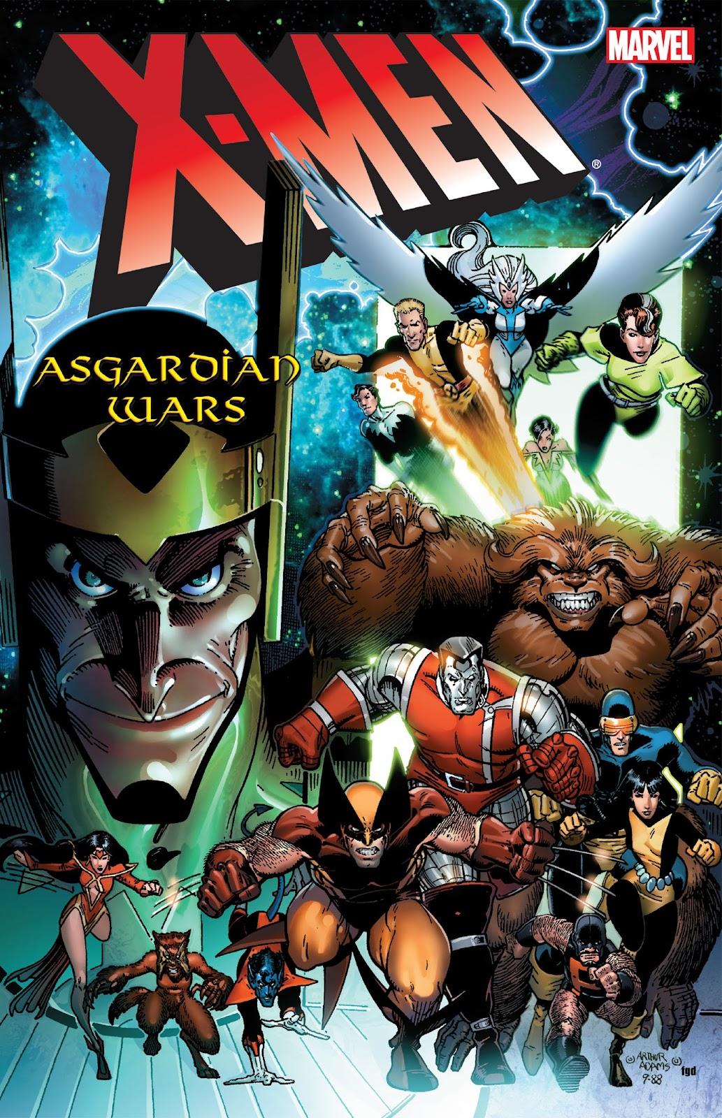 X-Men: The Asgardian Wars TPB Page 1