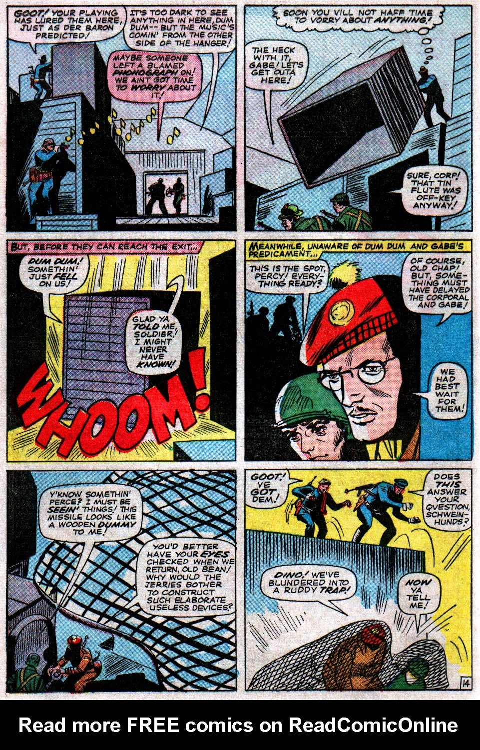 Read online Sgt. Fury comic -  Issue #14 - 20