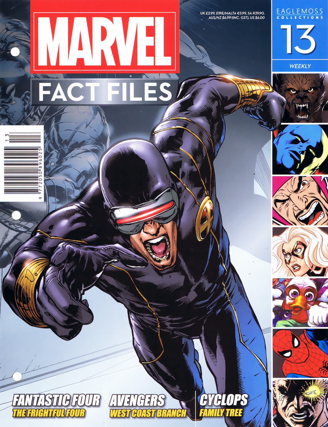 Marvel Fact Files 13 Page 1