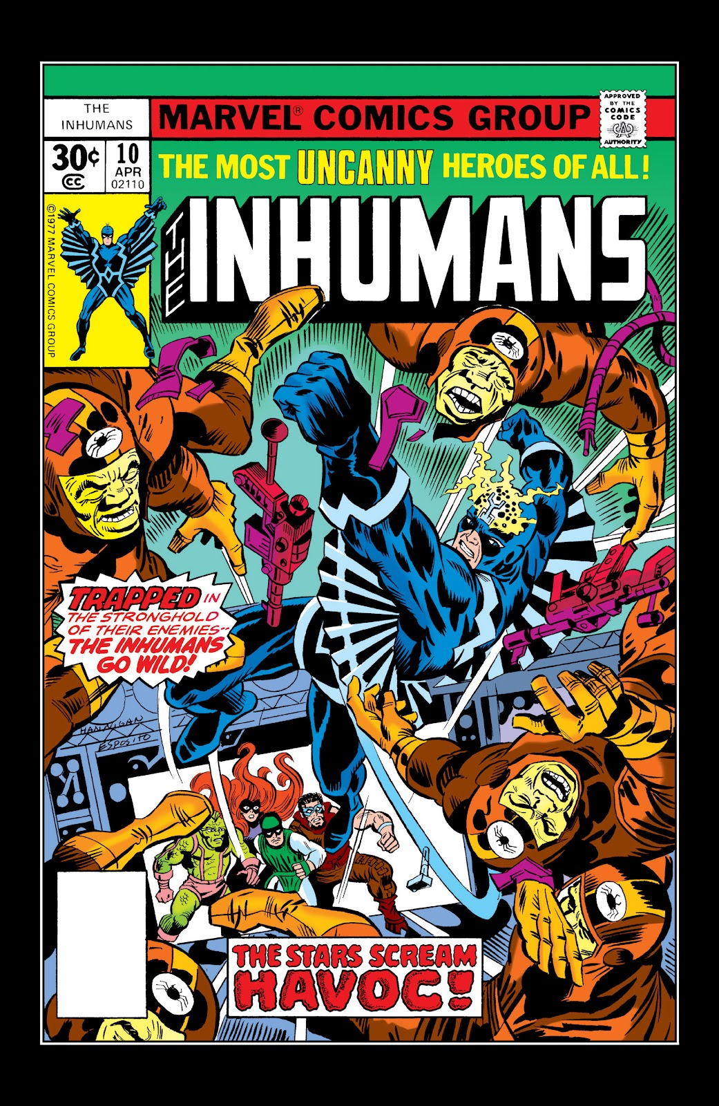 Read online Marvel Masterworks: The Inhumans comic -  Issue # TPB 2 (Part 2) - 56