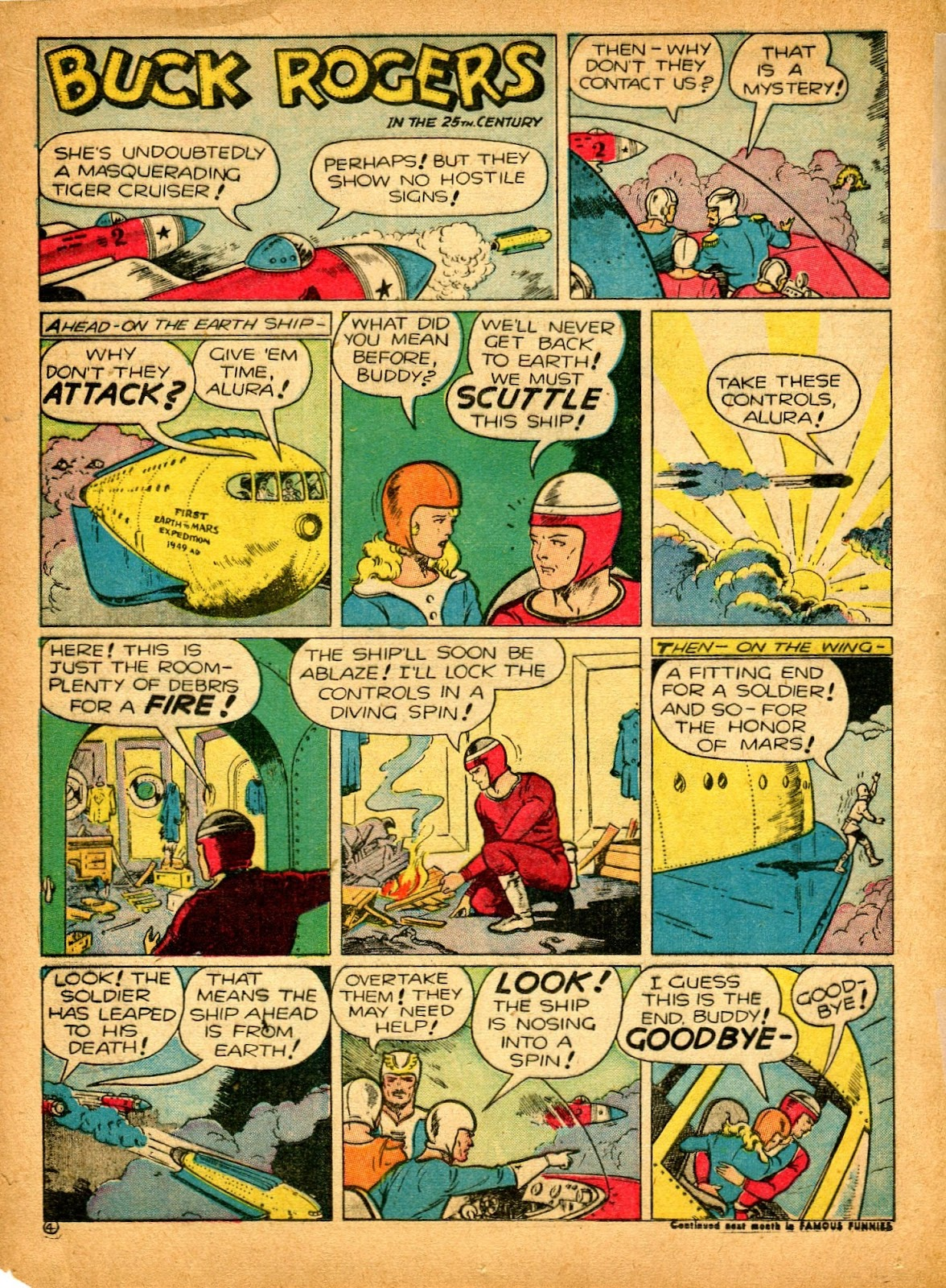 Read online Famous Funnies comic -  Issue #84 - 20