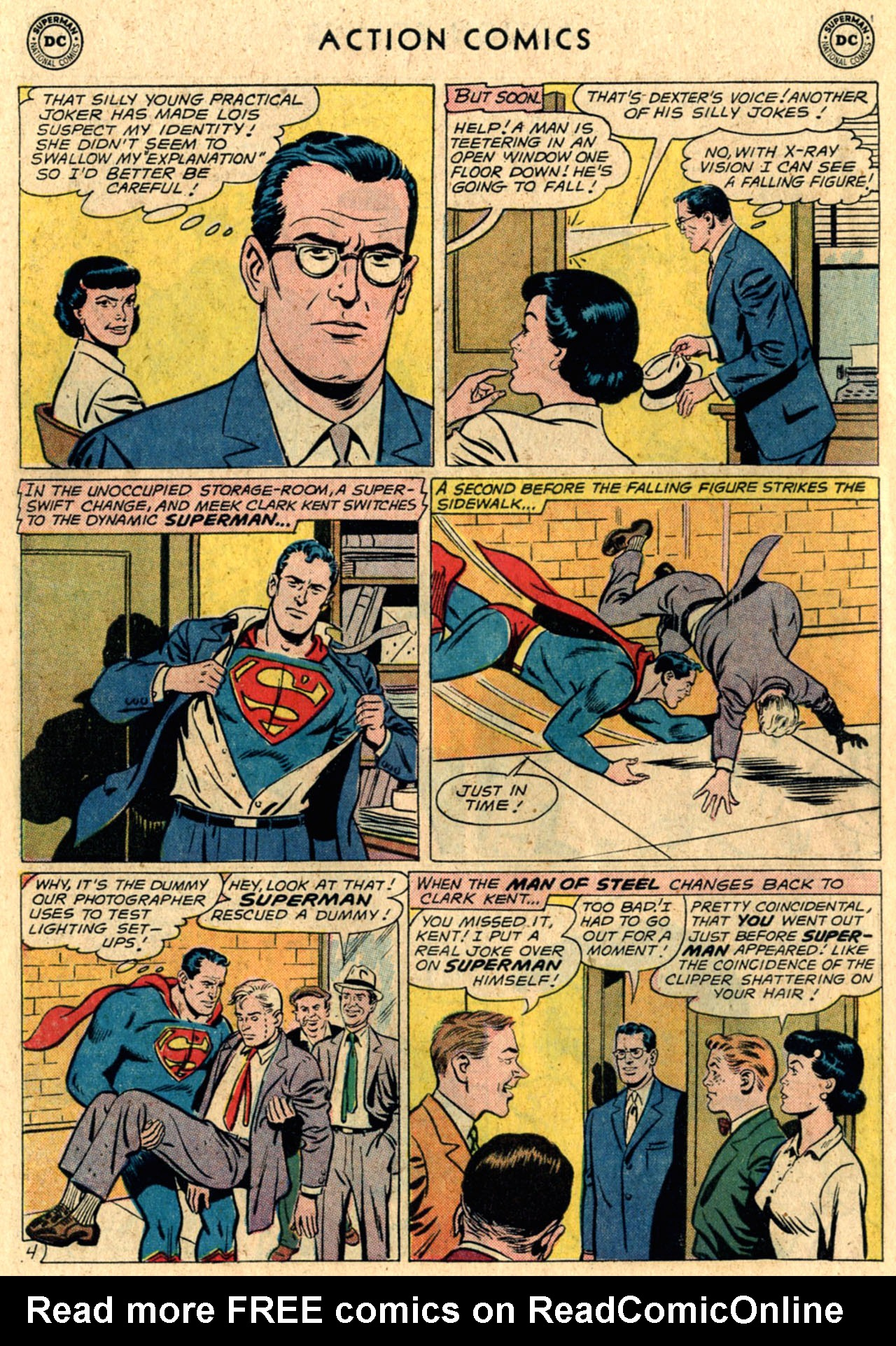 Read online Action Comics (1938) comic -  Issue #289 - 6
