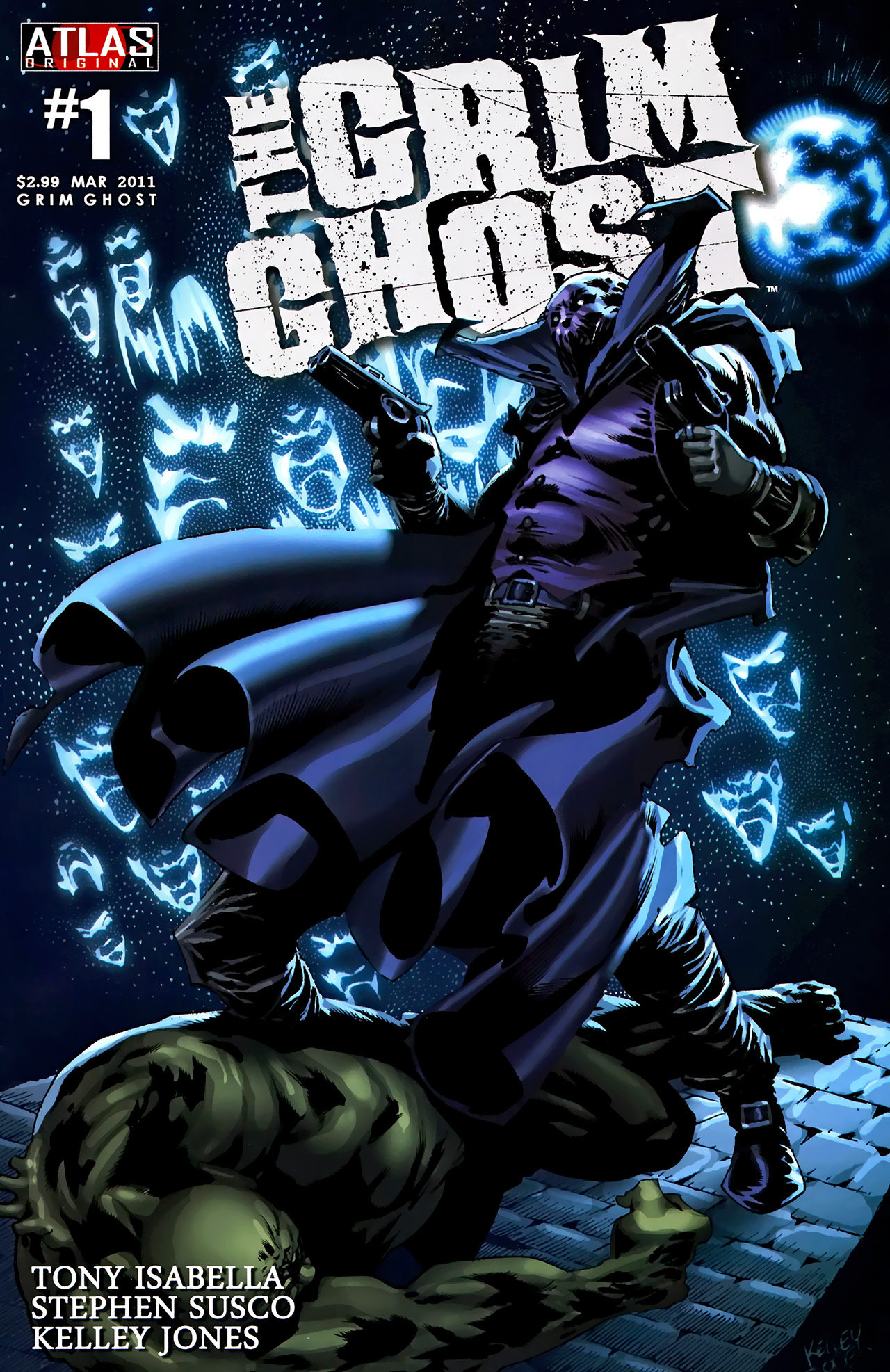 Read online The Grim Ghost comic -  Issue #1 - 1