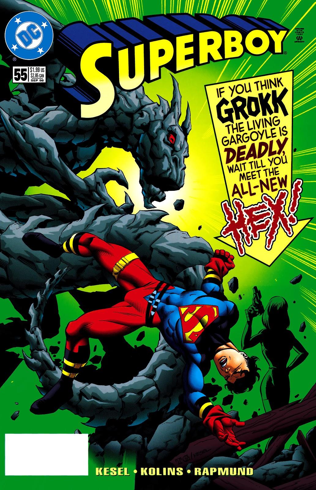 Superboy (1994) 55 Page 1
