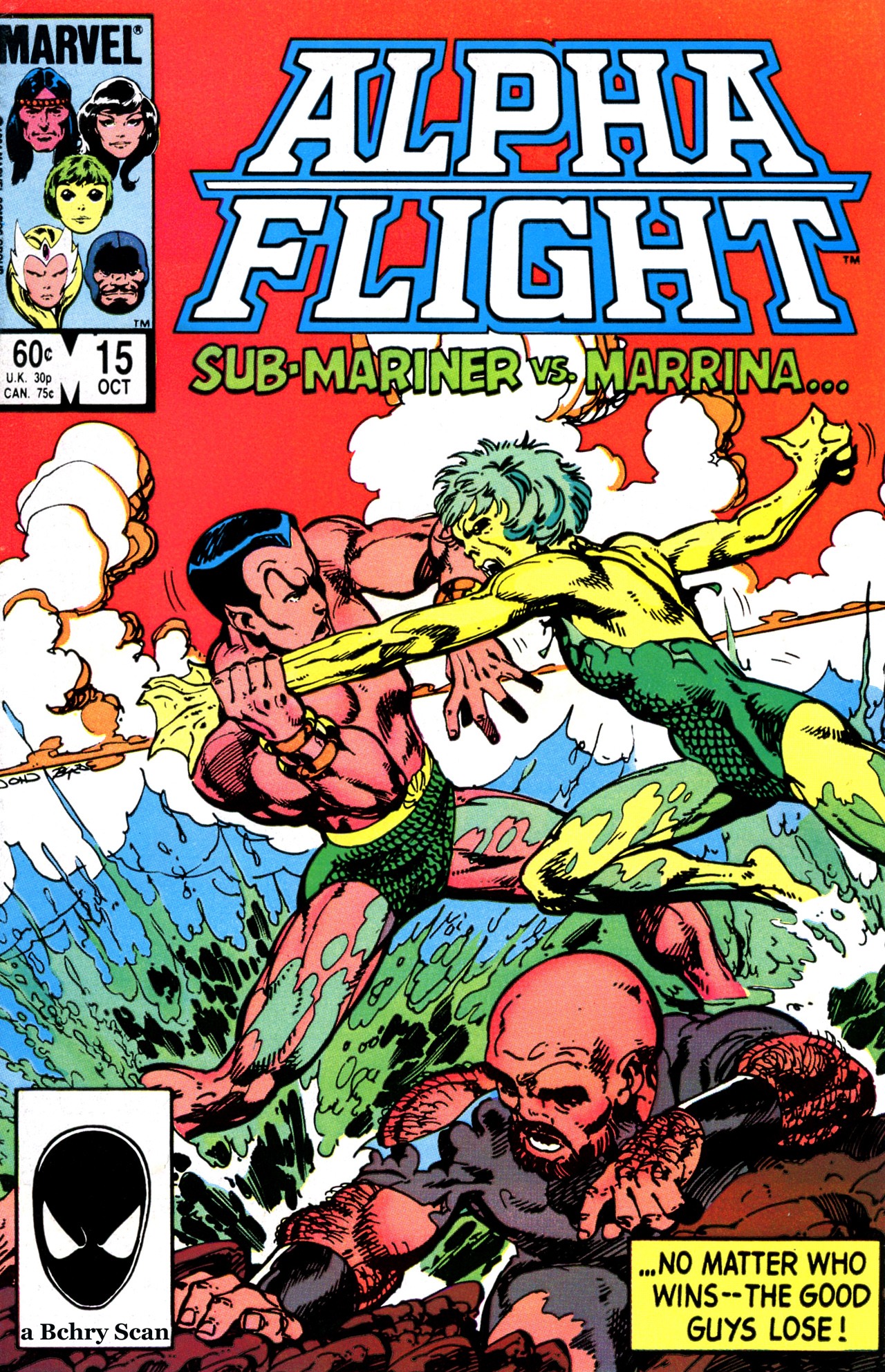 Read online Alpha Flight (1983) comic -  Issue #15 - 1