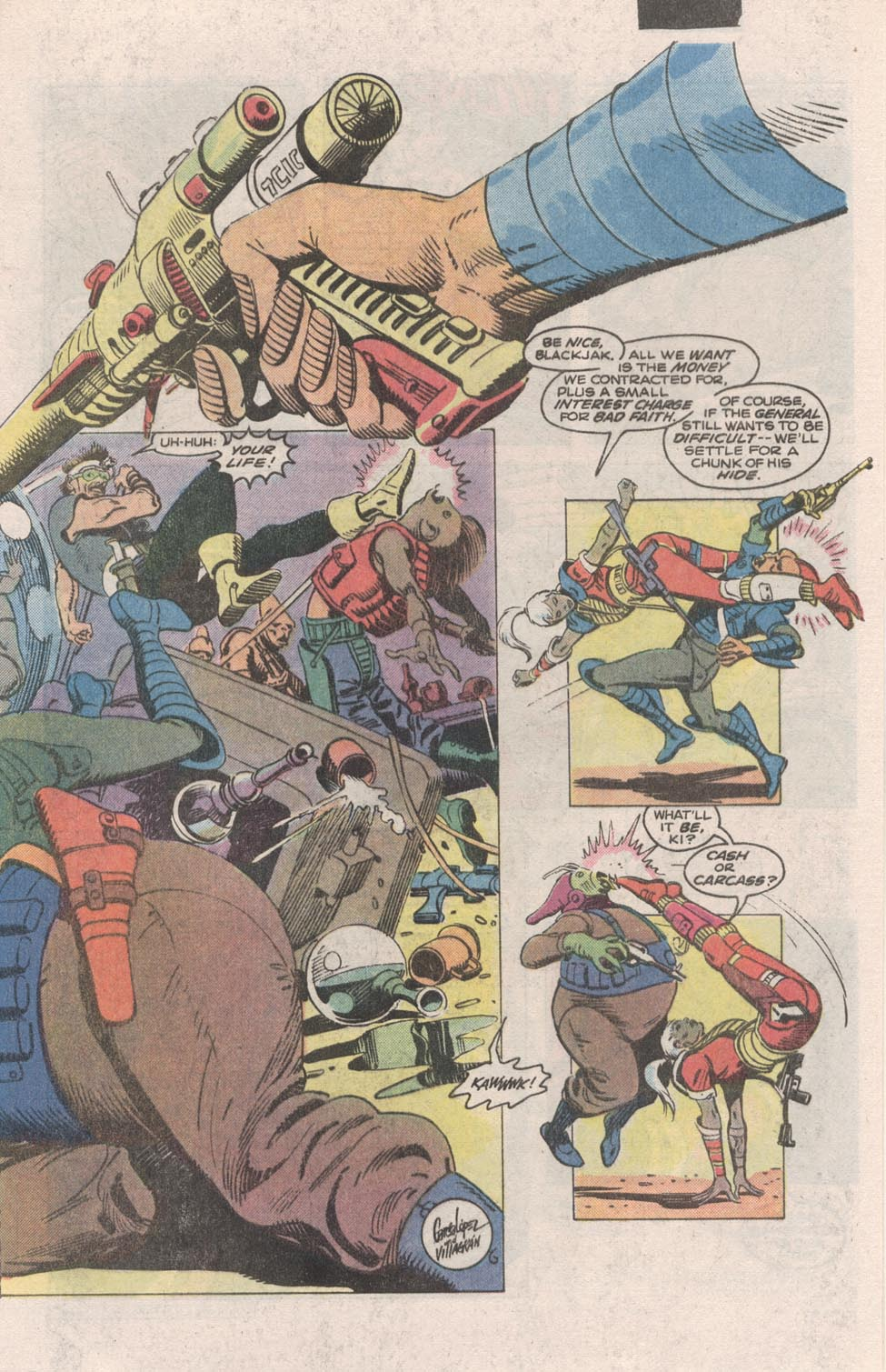 Read online Atari Force (1984) comic -  Issue #1 - 4
