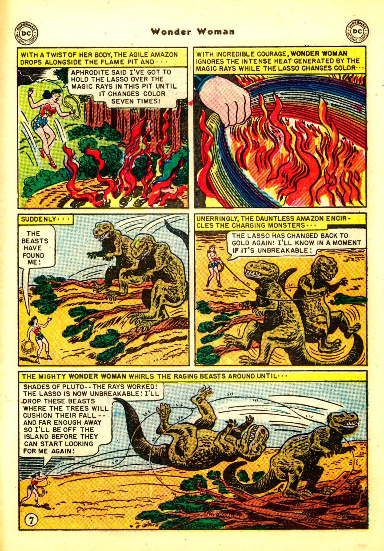 Read online Wonder Woman (1942) comic -  Issue #50 - 37