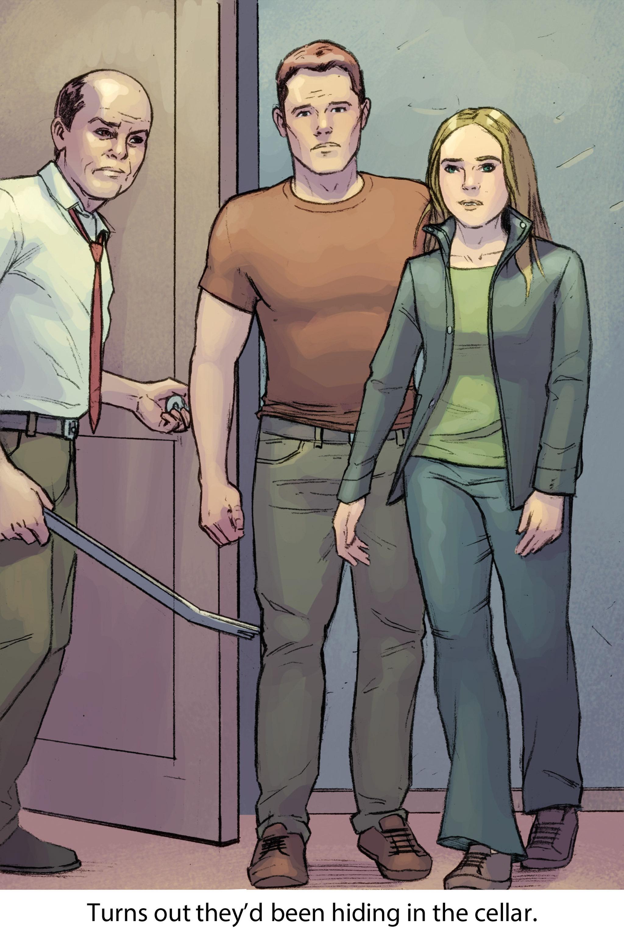 Read online Soul comic -  Issue #2 - 37