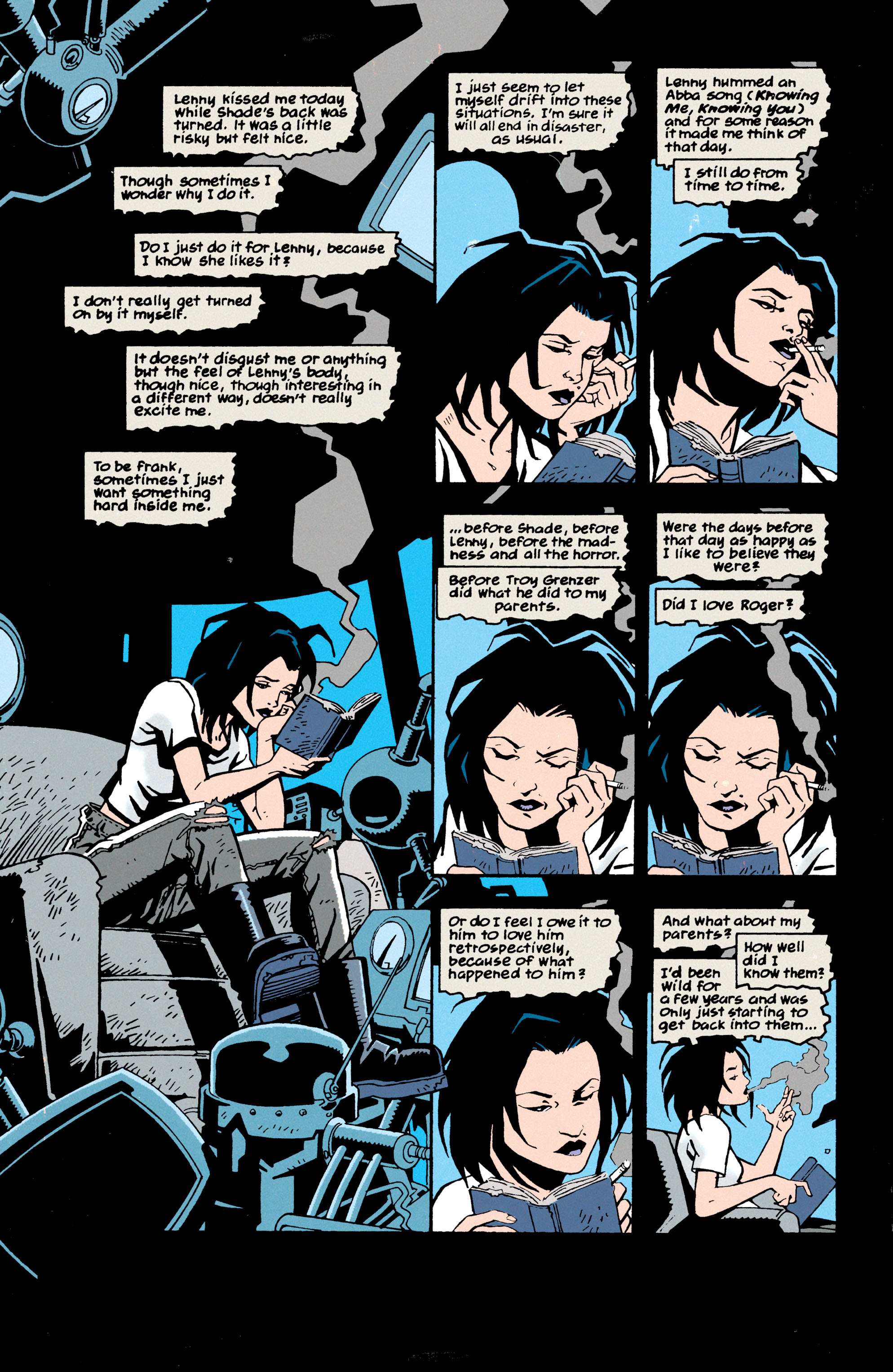 Read online Shade, the Changing Man comic -  Issue #69 - 2