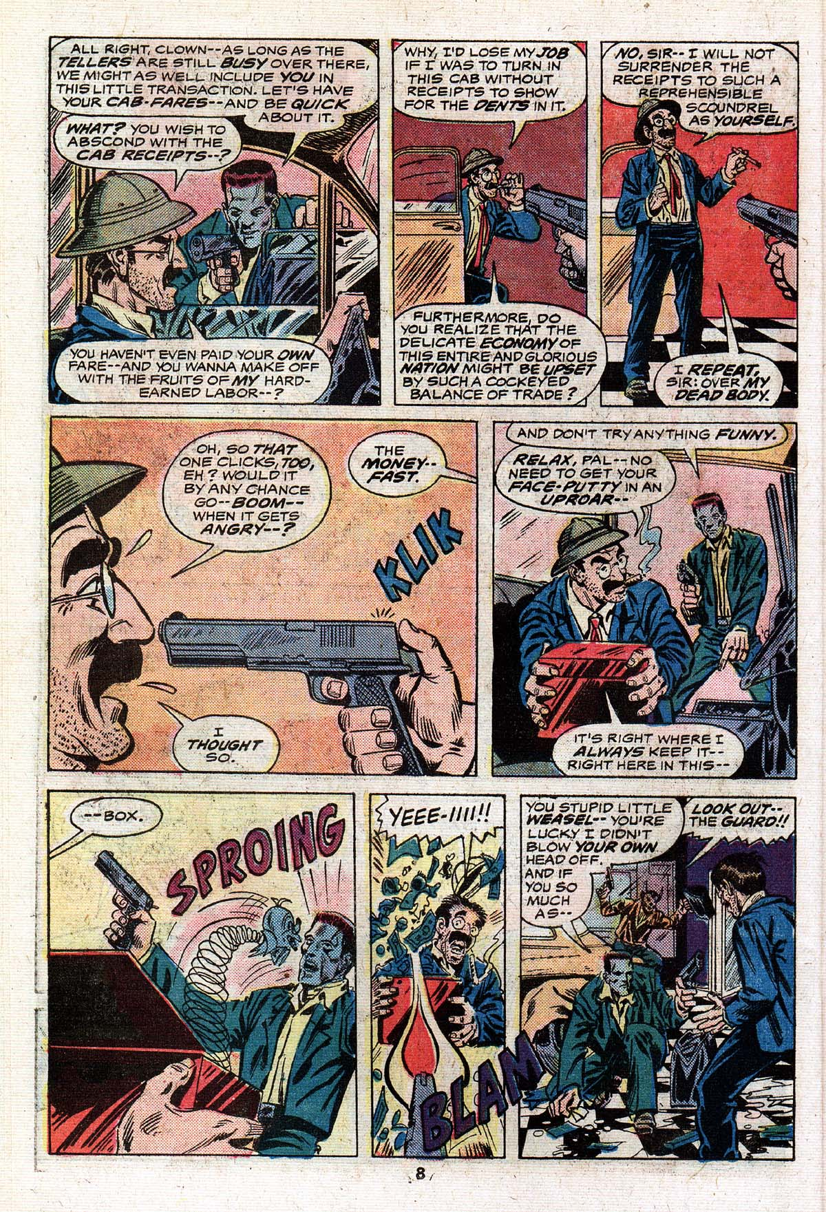 Read online Giant-Size Master of Kung Fu comic -  Issue #4 - 7