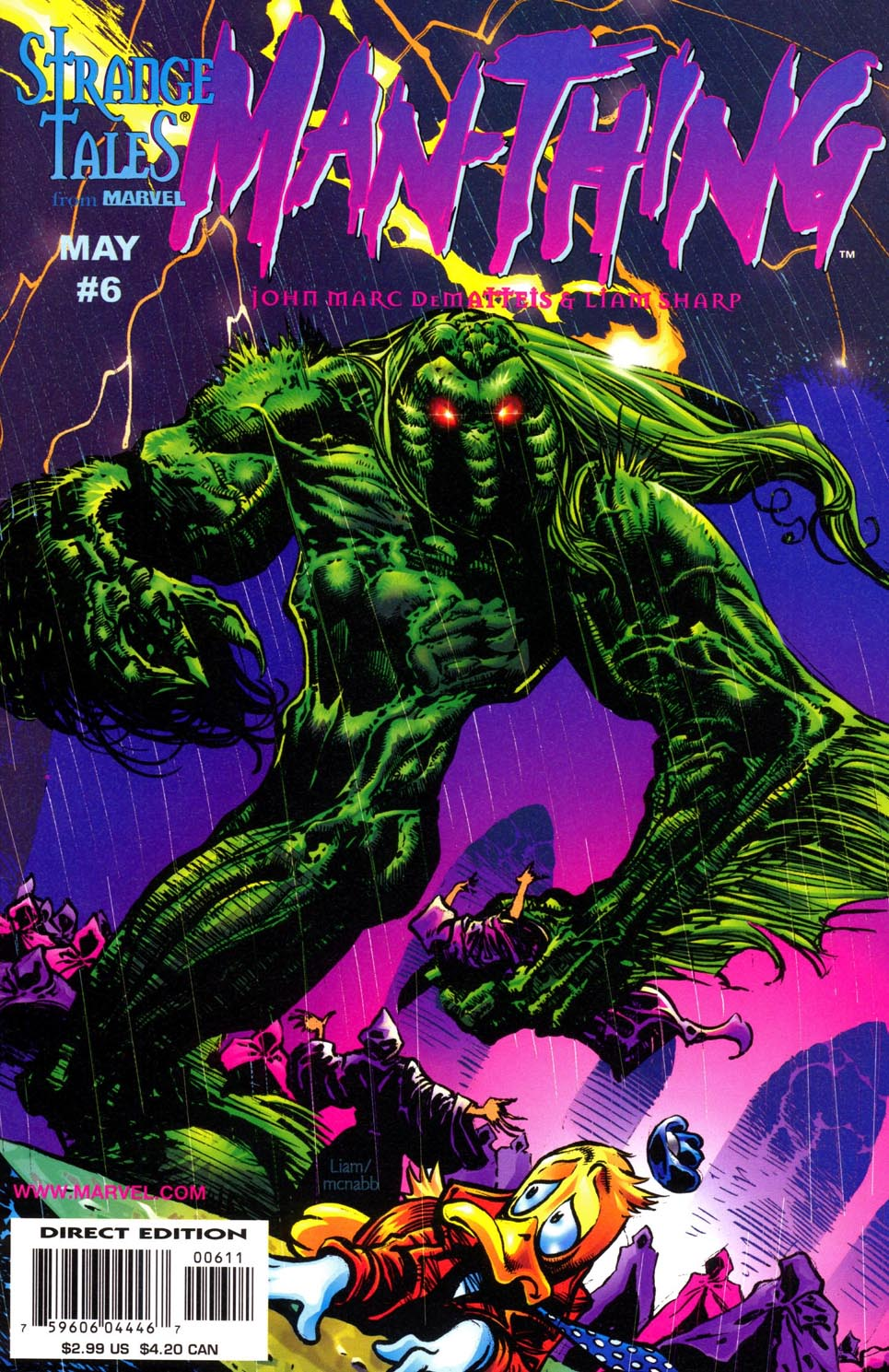 Man-Thing (1997) issue 6 - Page 1