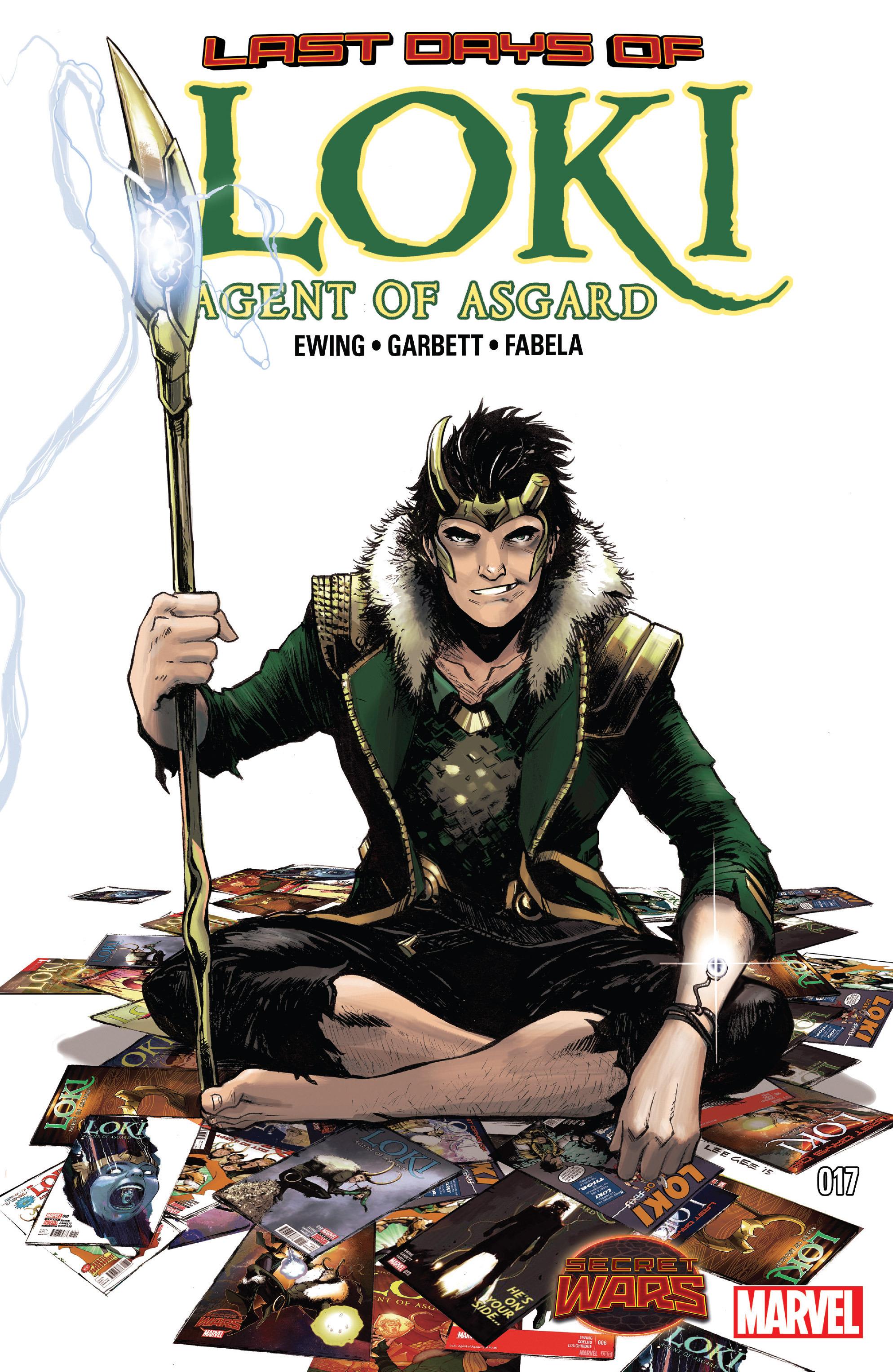 Loki: Agent of Asgard 17 Page 1