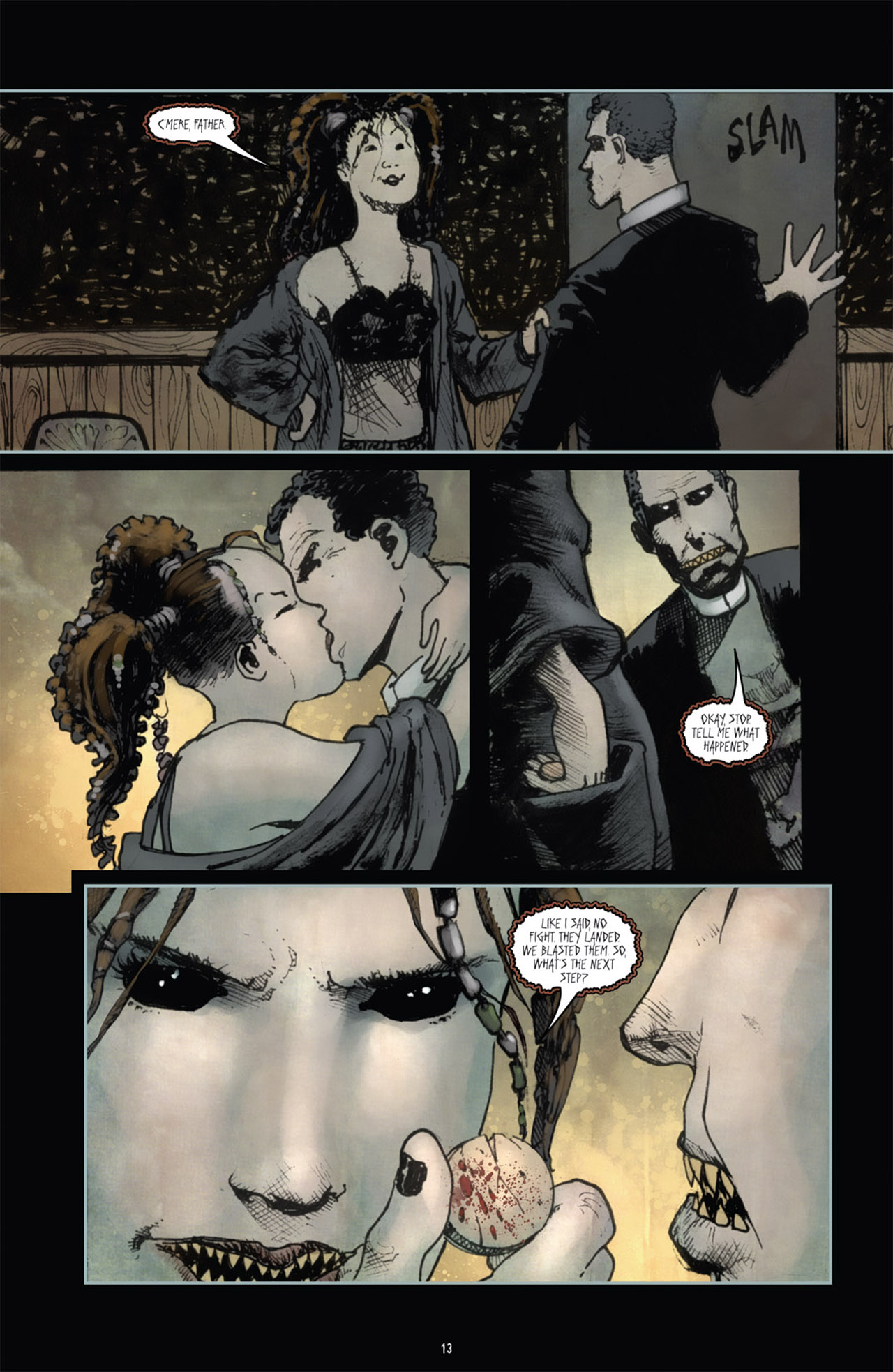 Read online 30 Days of Night (2011) comic -  Issue #1 - 17