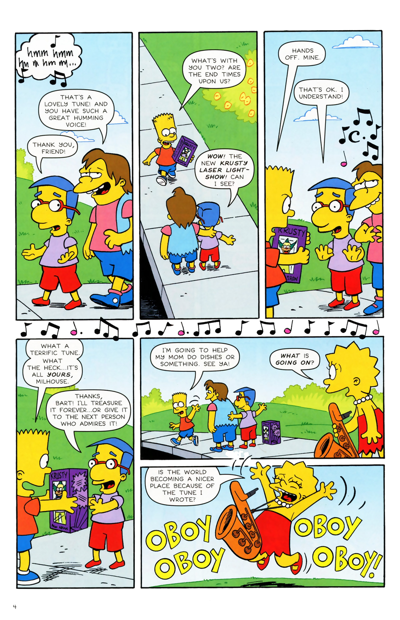 Read online Simpsons Comics comic -  Issue #170 - 5