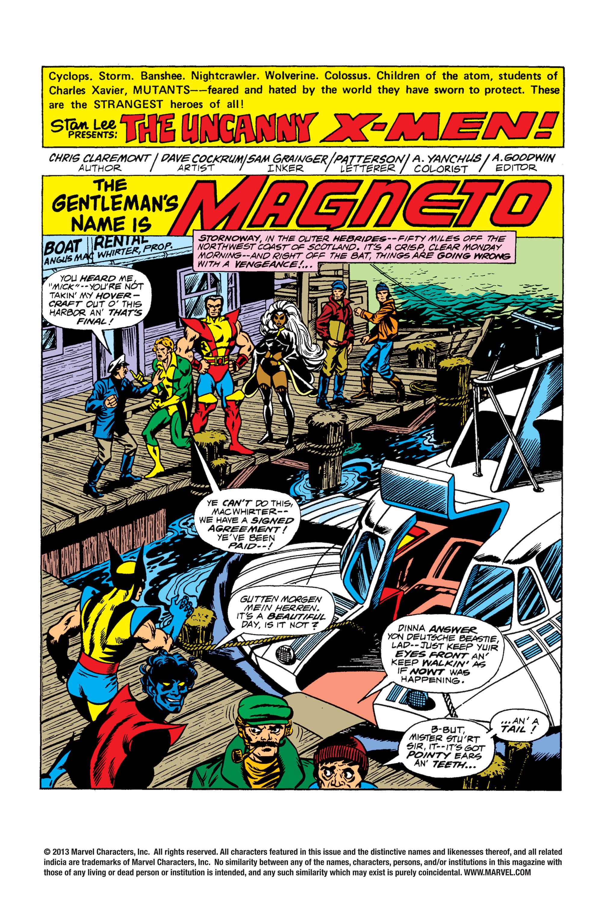 Read online Uncanny X-Men (1963) comic -  Issue #104 - 2