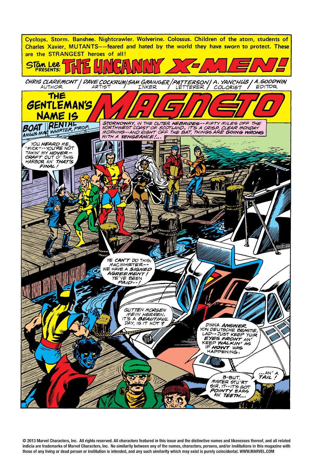 Uncanny X-Men (1963) issue 104 - Page 2