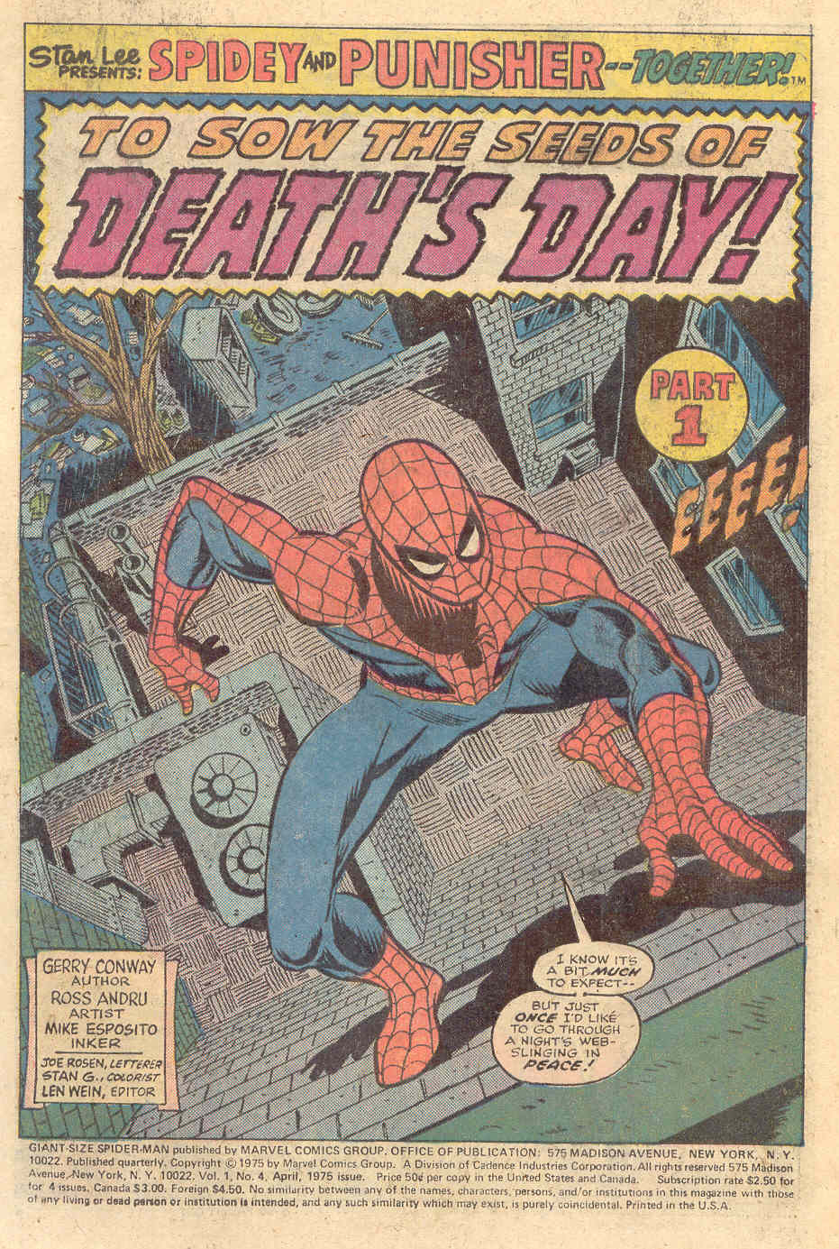 Giant-Size Spider-Man (1974) issue 4 - Page 2