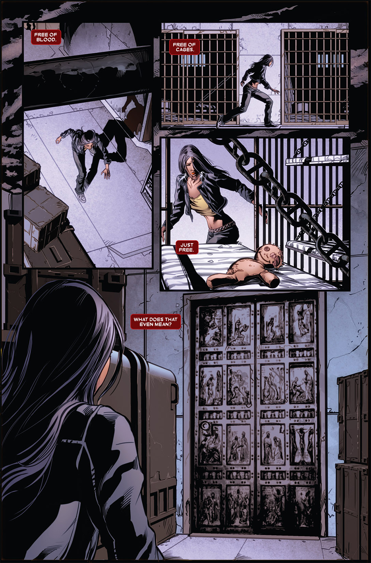 Read online X-23 (2010) comic -  Issue #5 - 14