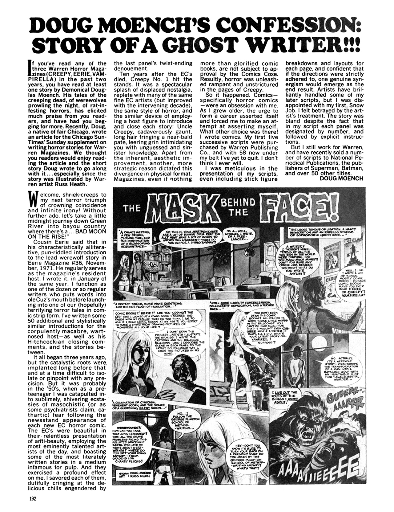 Read online Eerie Archives comic -  Issue # TPB 9 - 193