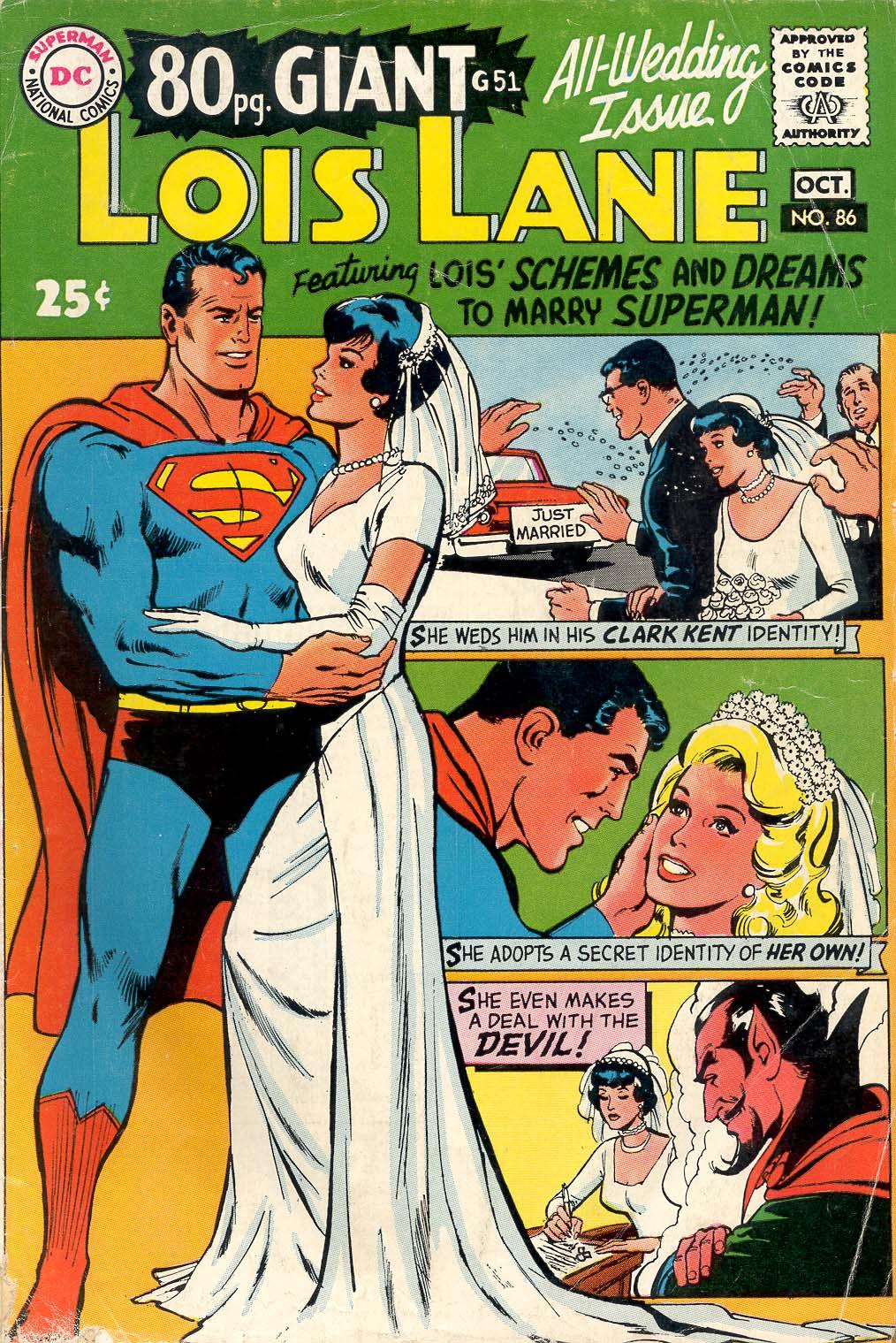 Supermans Girl Friend, Lois Lane 86 Page 1