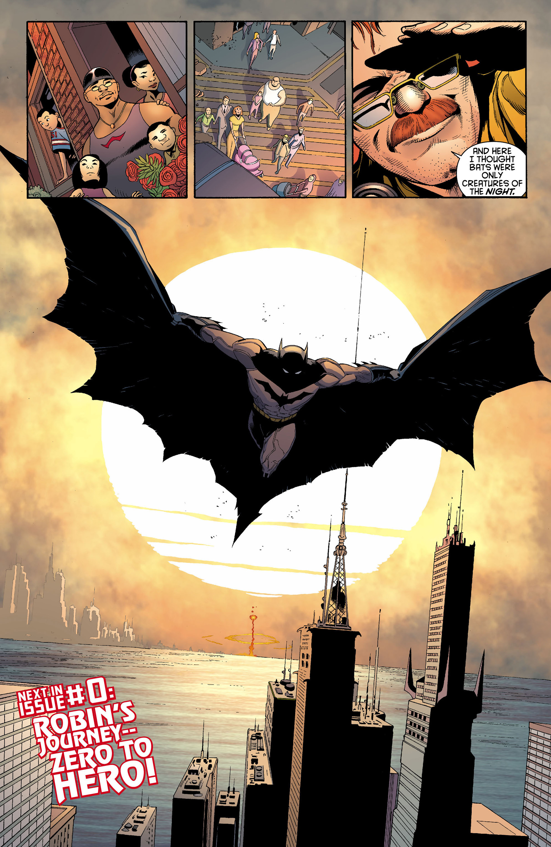 Read online Batman and Robin (2011) comic -  Issue #12 - 18