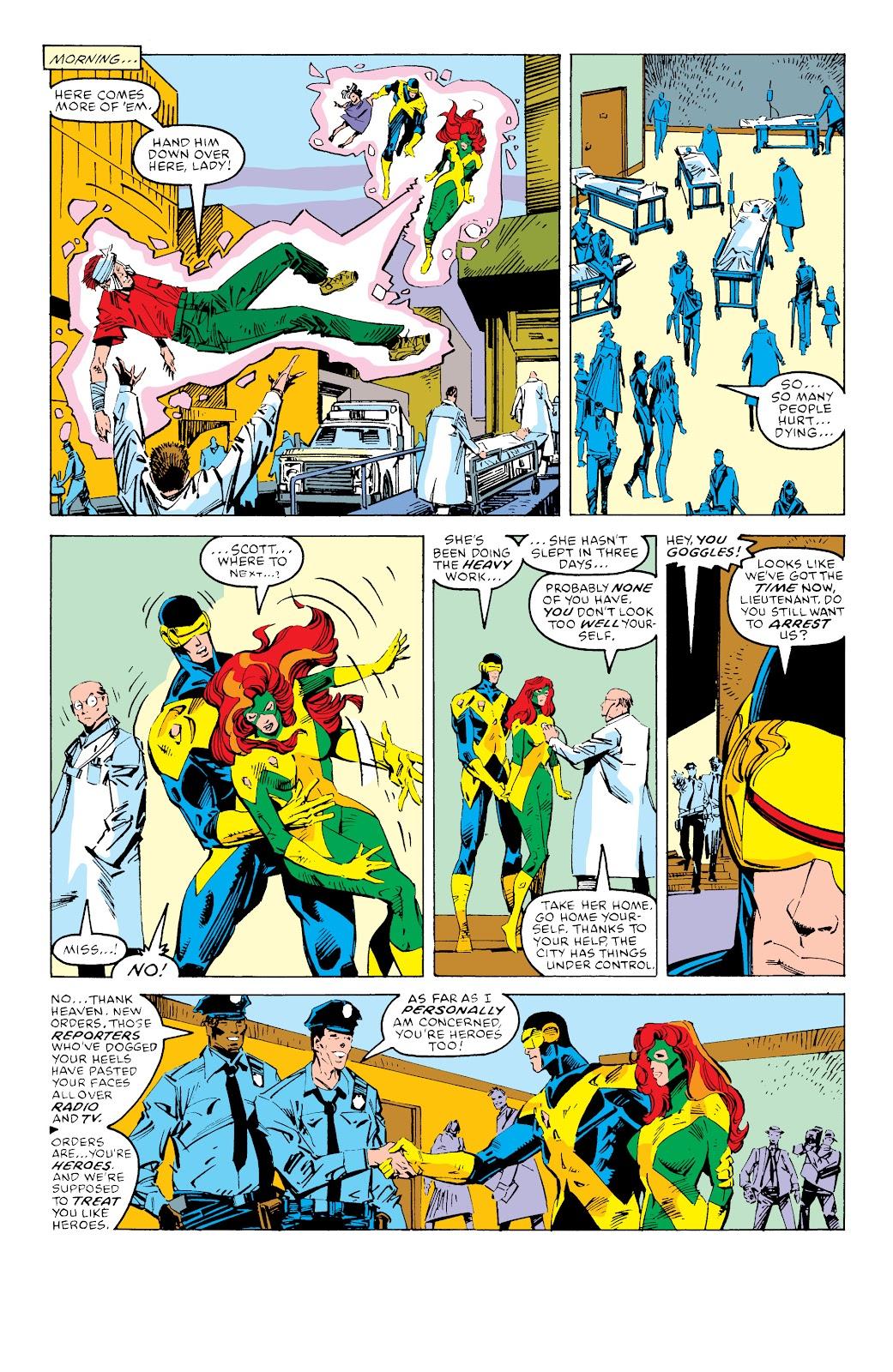 Read online X-Men Milestones: Fall of the Mutants comic -  Issue # TPB (Part 3) - 61