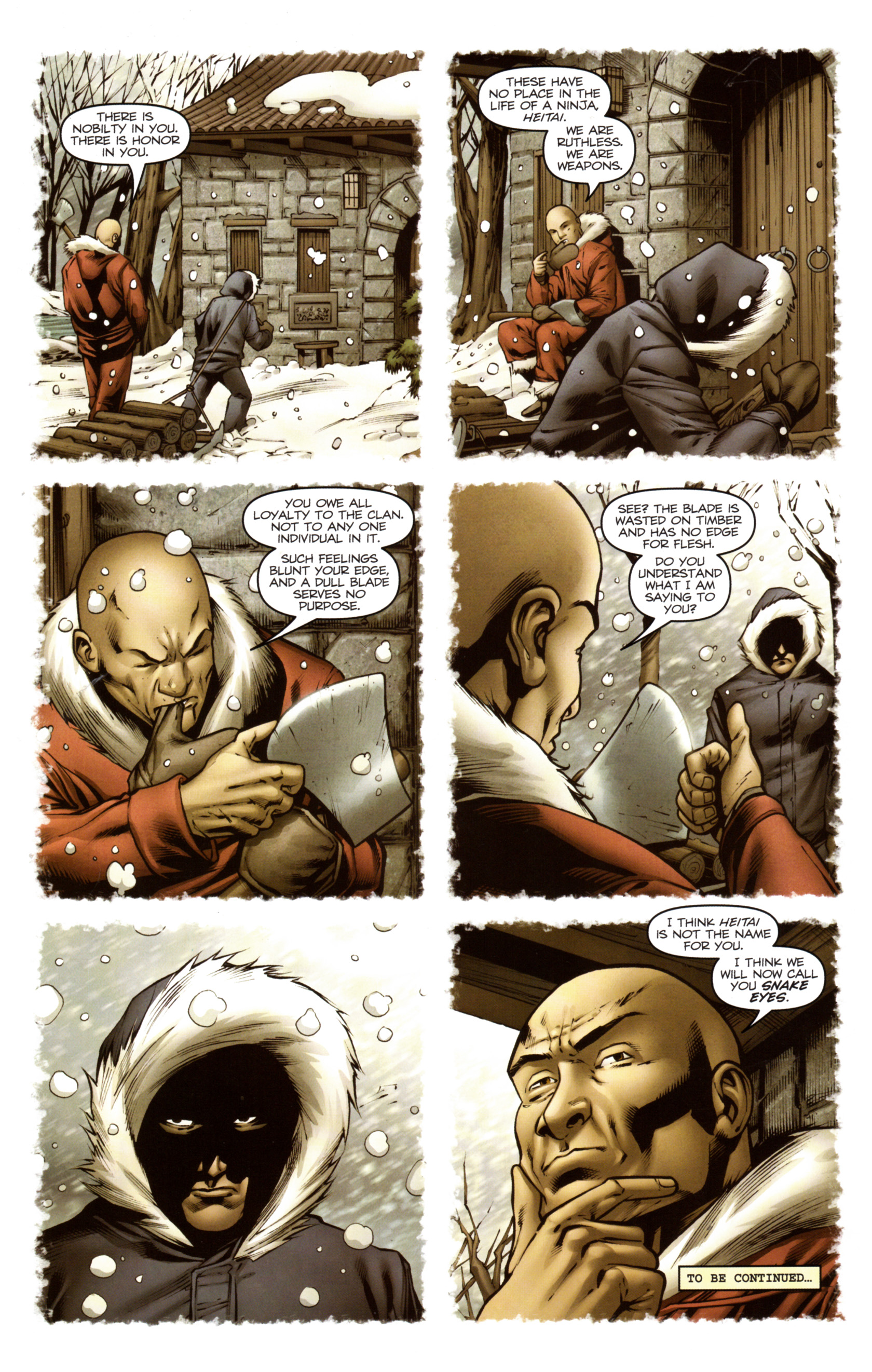 Read online Snake Eyes and Storm Shadow comic -  Issue #13 - 25