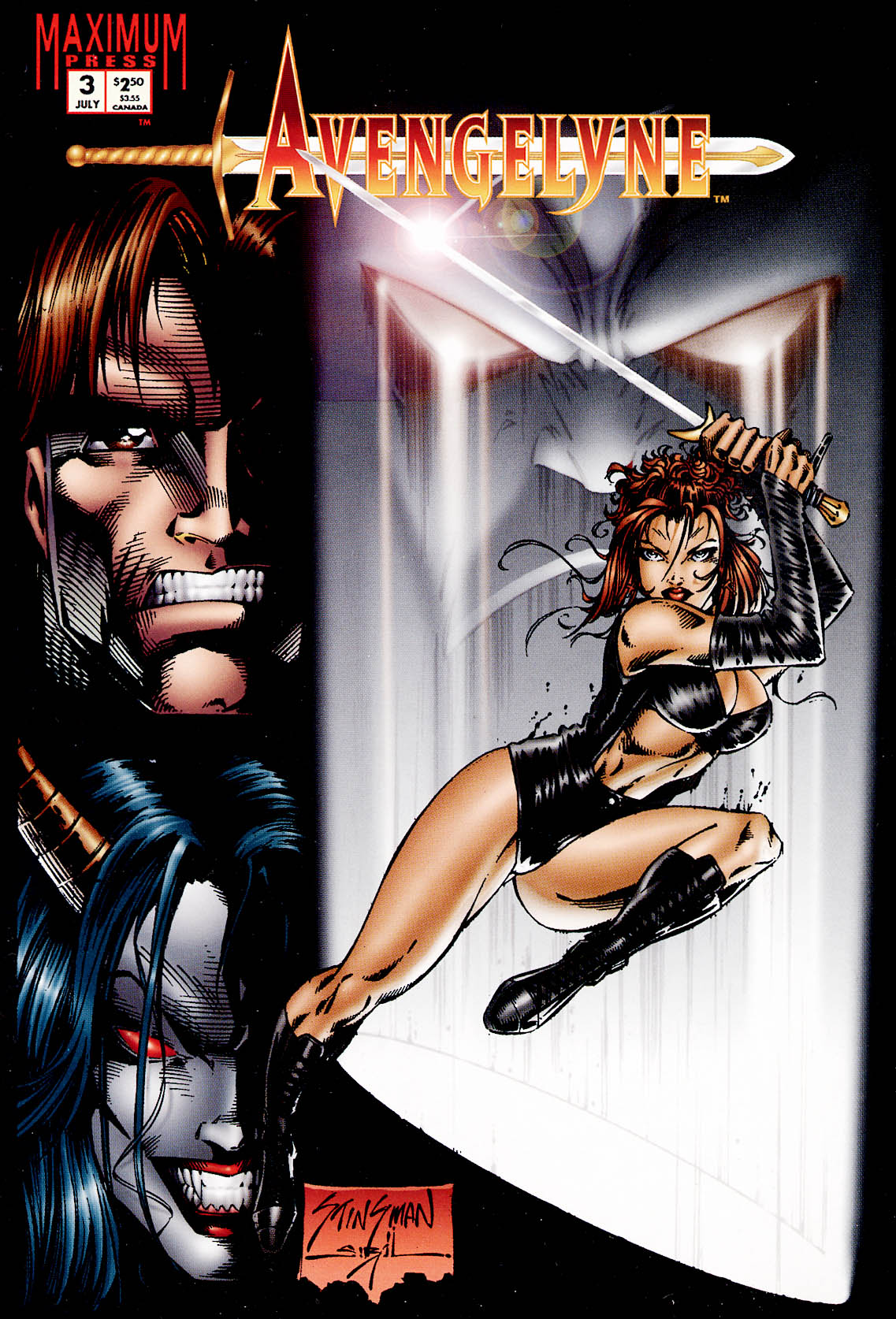 Read online Avengelyne (1995) comic -  Issue #3 - 1