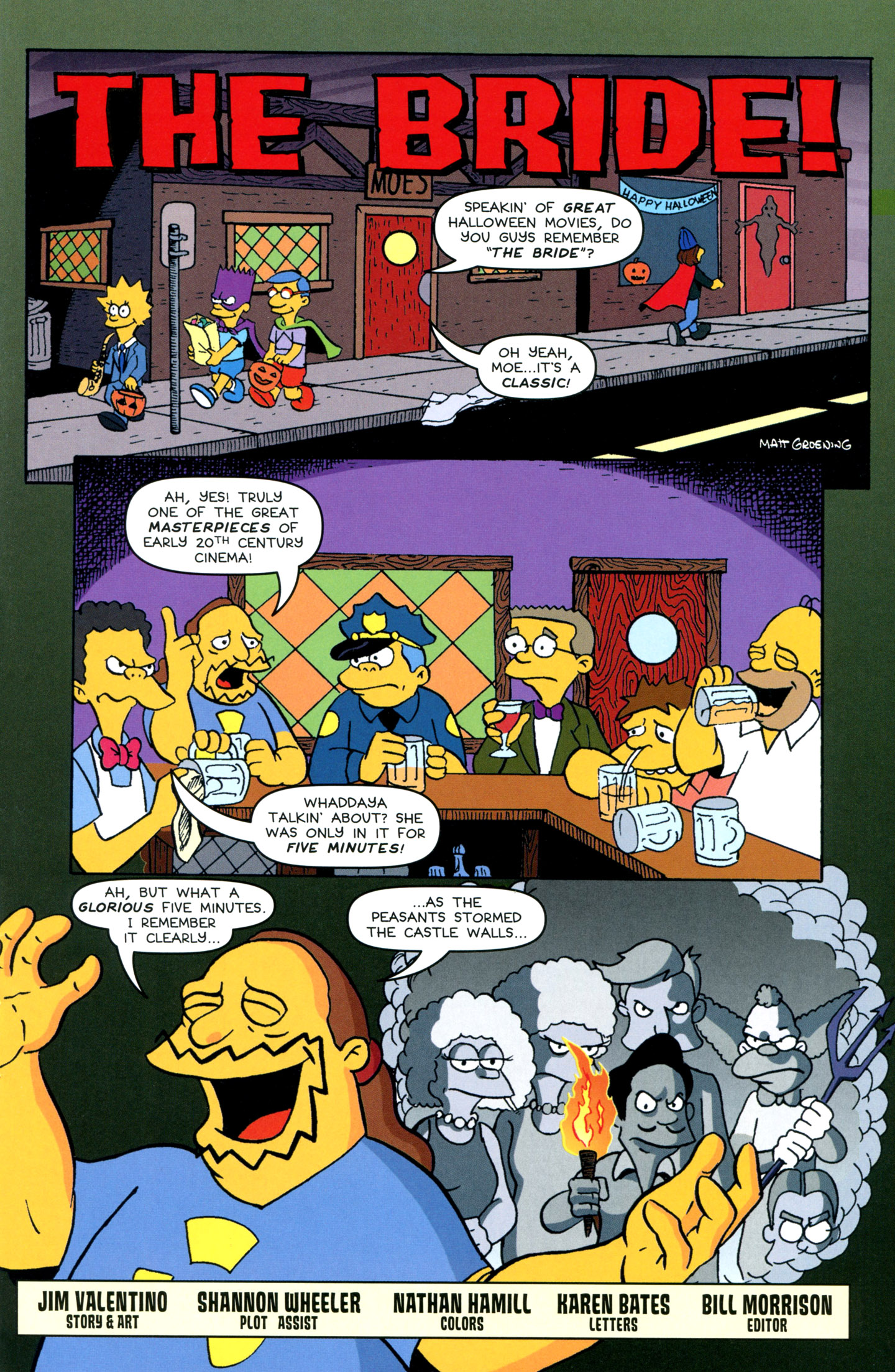 Read online Treehouse of Horror comic -  Issue #18 - 41
