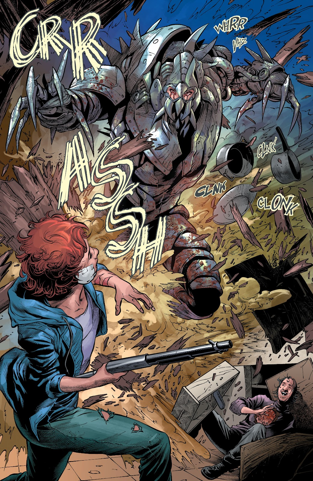 Read online The Curse of Brimstone: Ashes comic -  Issue # TPB (Part 2) - 20