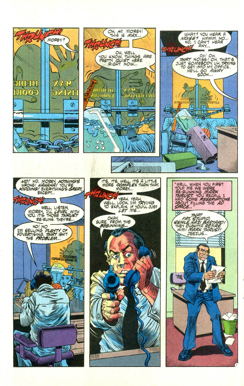 Read online American Flagg! comic -  Issue #21 - 24