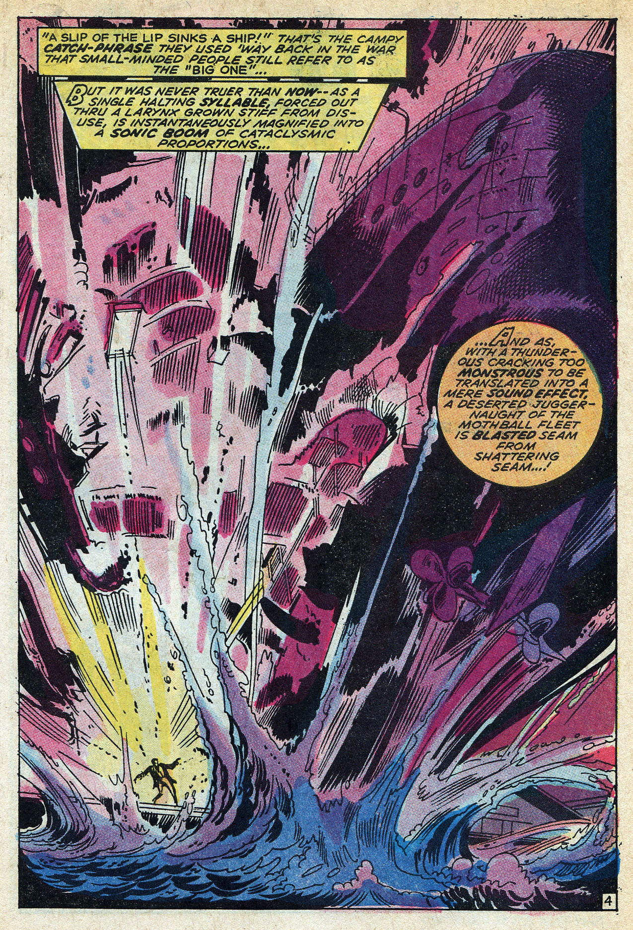 Read online Amazing Adventures (1970) comic -  Issue #6 - 7