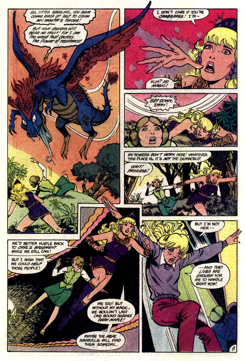 Read online Amethyst (1985) comic -  Issue #5 - 9