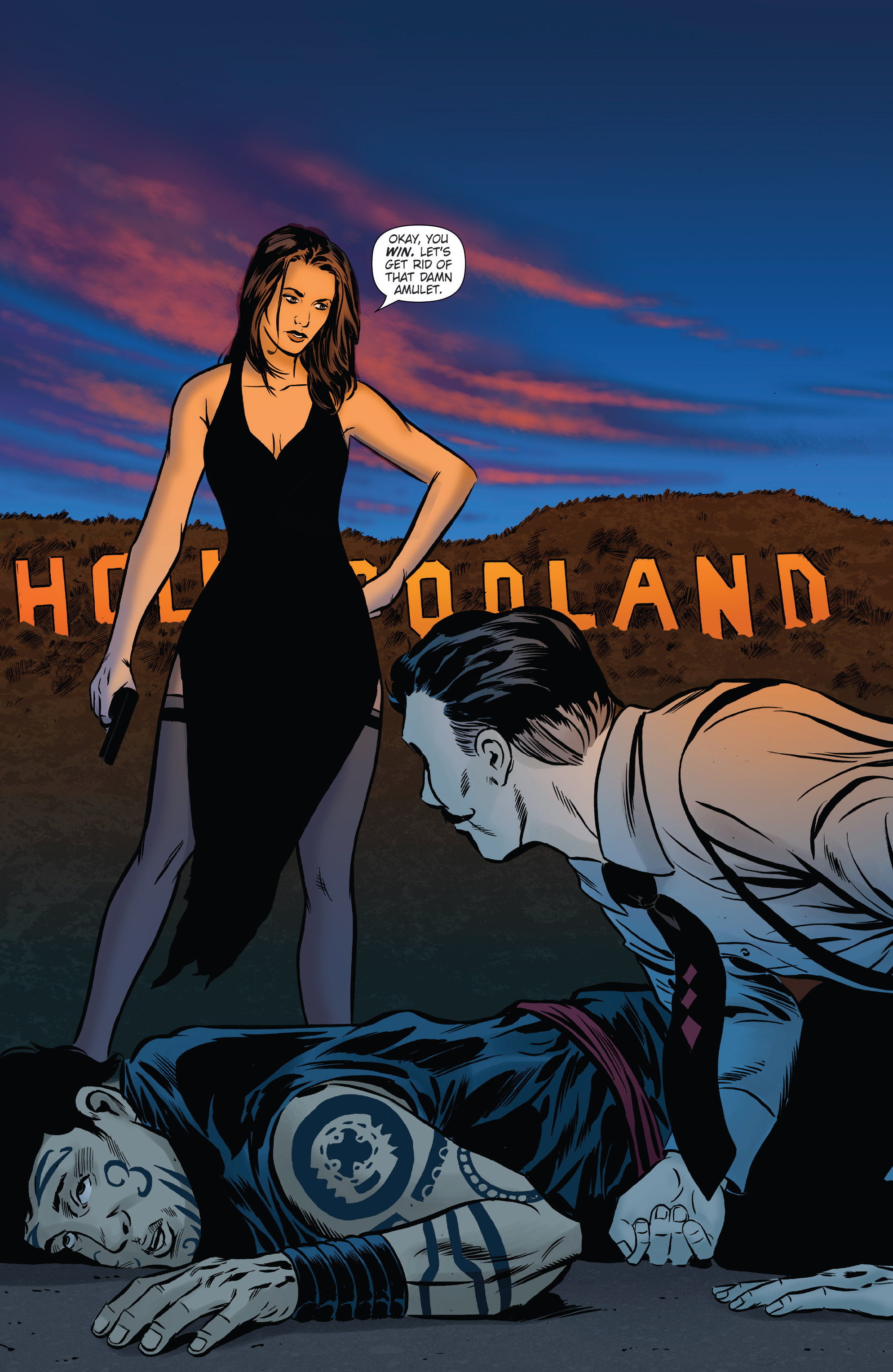 Read online Athena Voltaire and the Volcano Goddess comic -  Issue #2 - 11