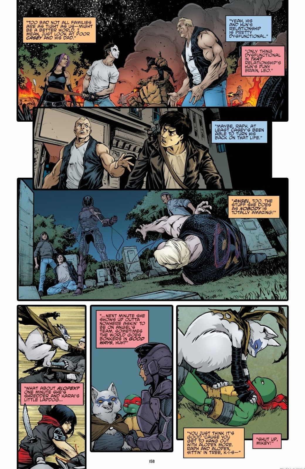 Read online Teenage Mutant Ninja Turtles: The IDW Collection comic -  Issue # TPB 6 (Part 2) - 56