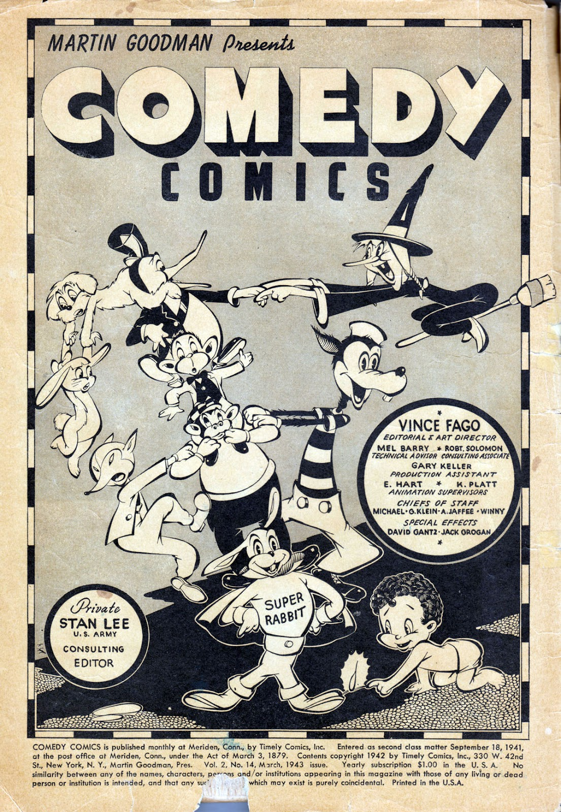 Read online Comedy Comics (1942) comic -  Issue #14 - 2