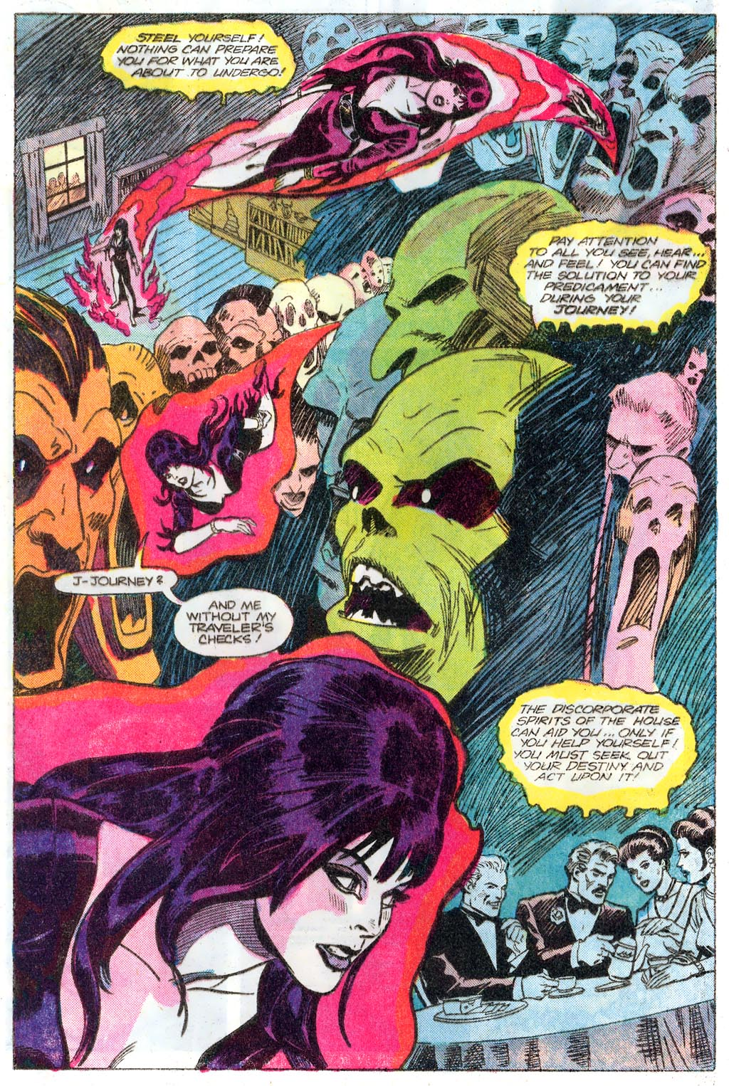 Elvira's House of Mystery Issue #1 #2 - English 6
